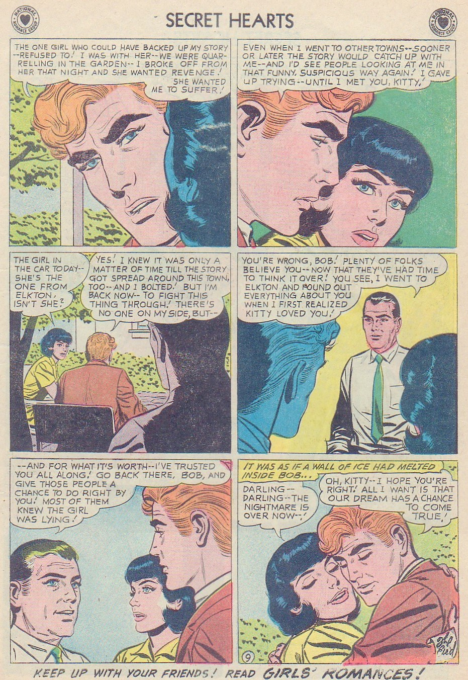 Read online Secret Hearts comic -  Issue #72 - 11