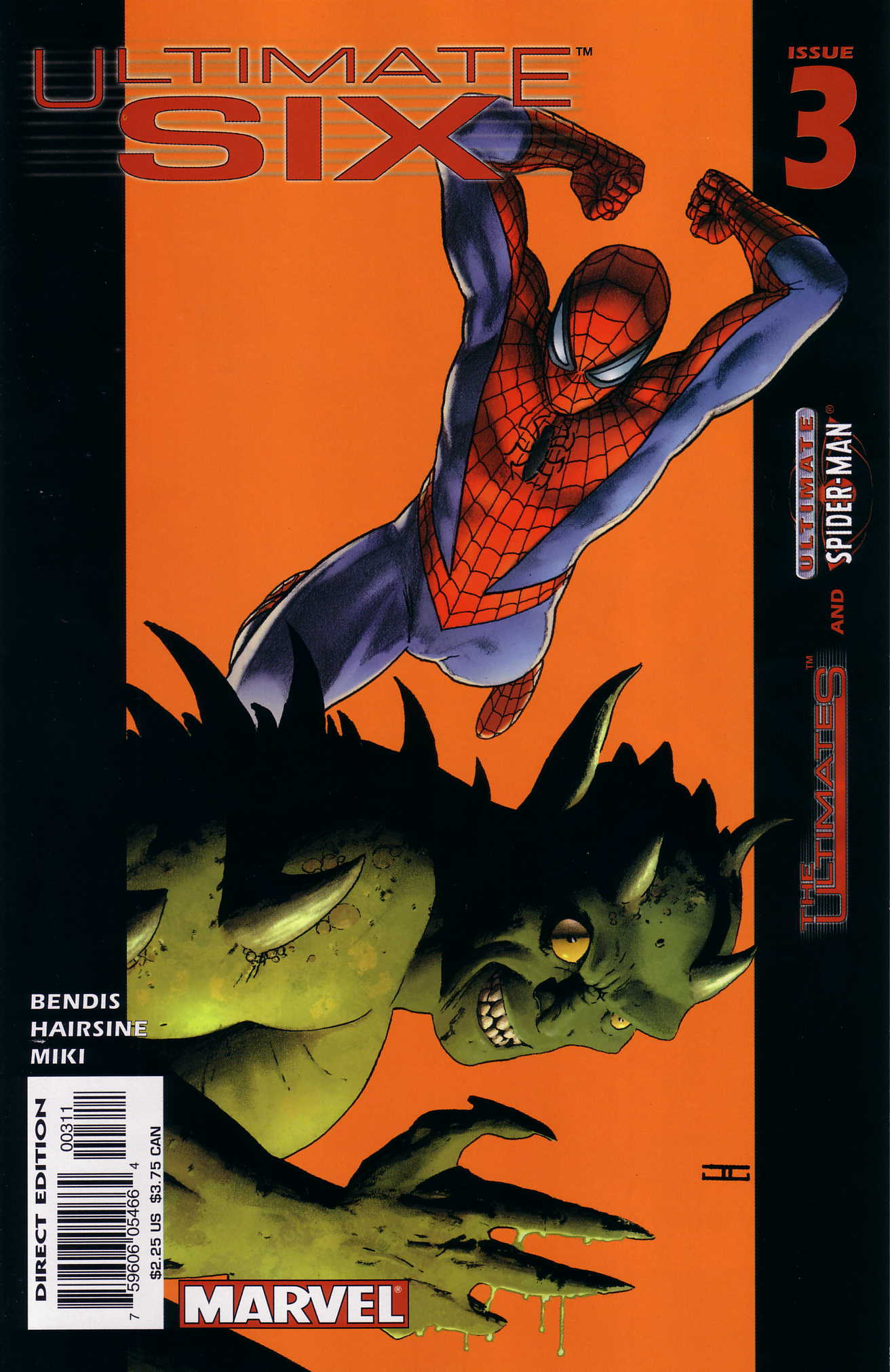 Read online Ultimate Six comic -  Issue #3 - 1