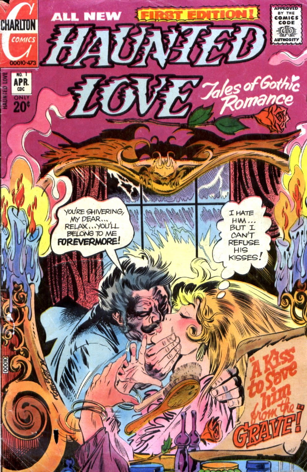 Haunted Love (1973) issue 1 - Page 1
