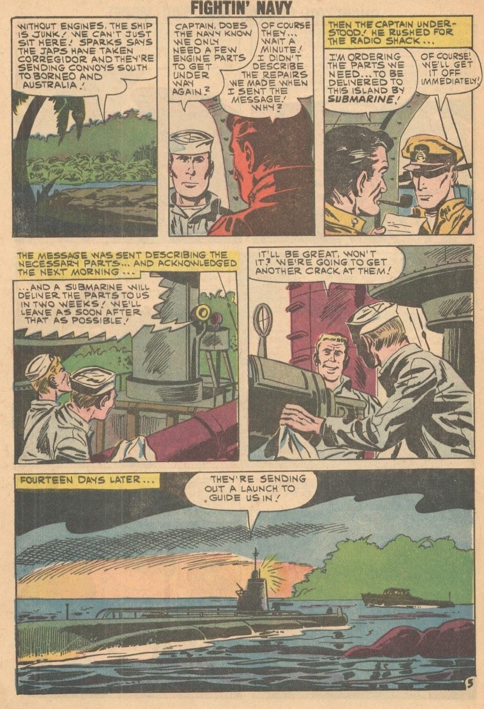 Read online Fightin' Navy comic -  Issue #93 - 8