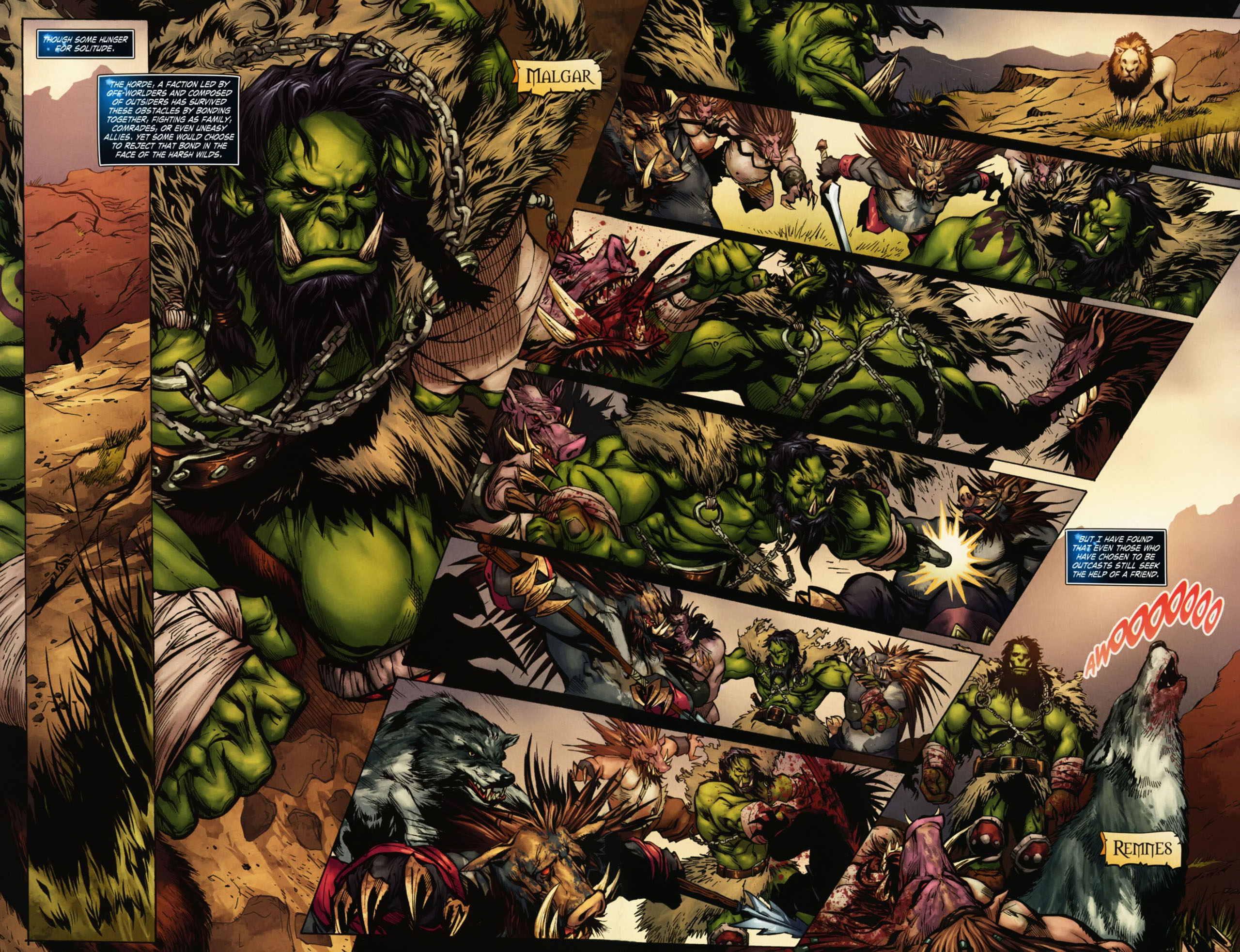 Read online World of Warcraft Special comic -  Issue # Full - 11
