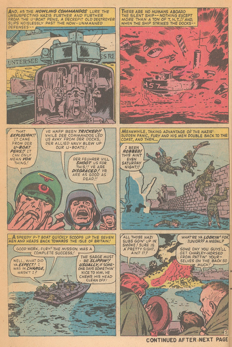 Read online Sgt. Fury comic -  Issue #95 - 8