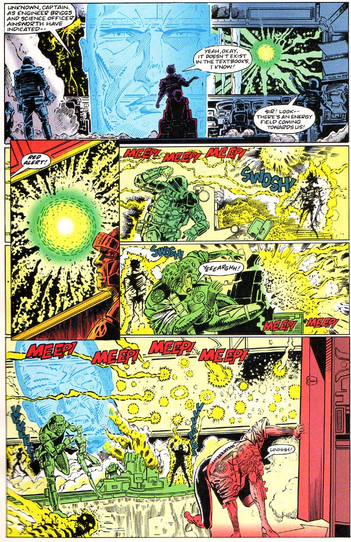 Read online Cyberspace 3000 comic -  Issue #1 - 4