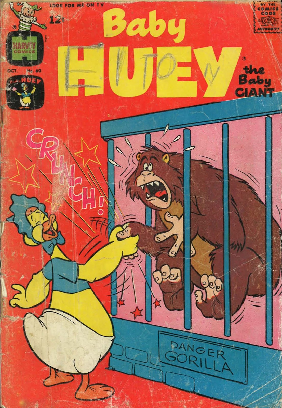 Baby Huey, the Baby Giant issue 60 - Page 1