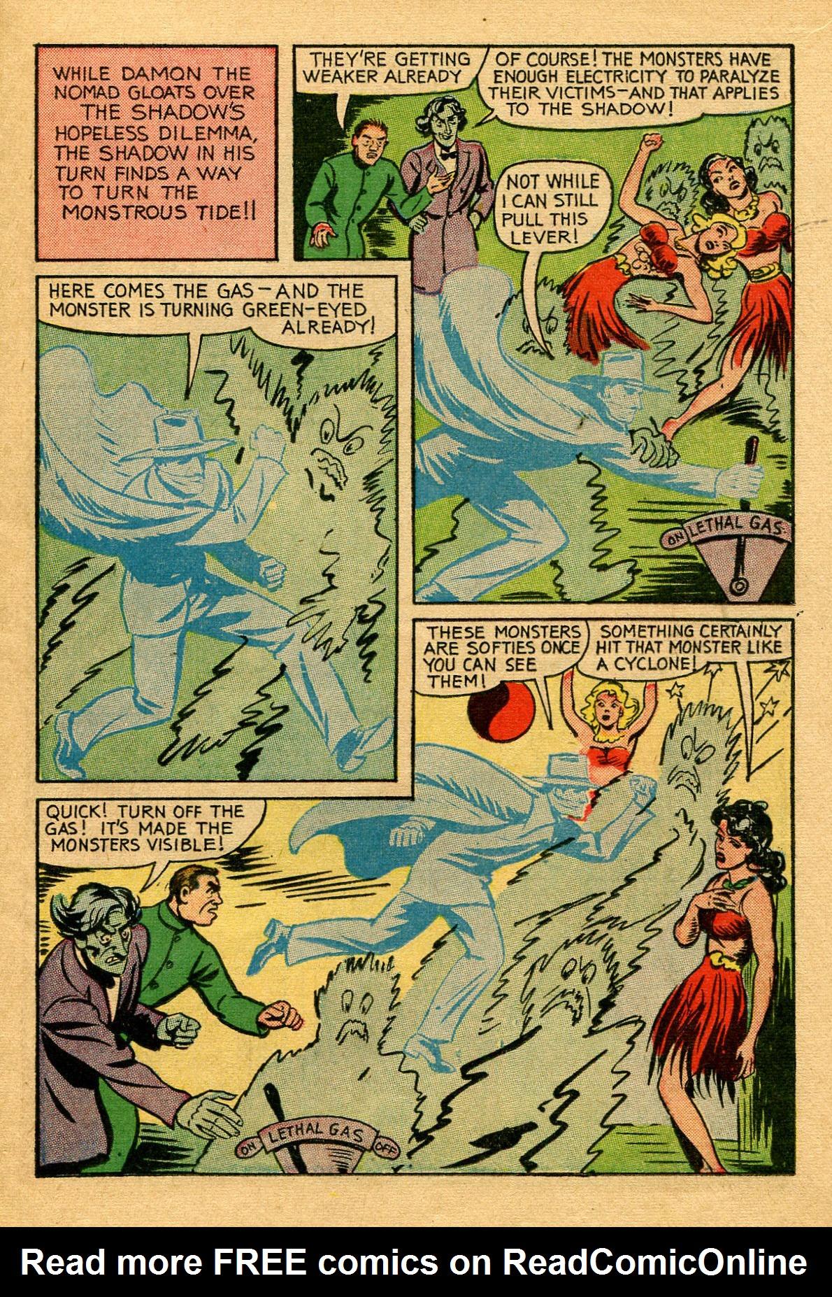 Read online Shadow Comics comic -  Issue #53 - 16