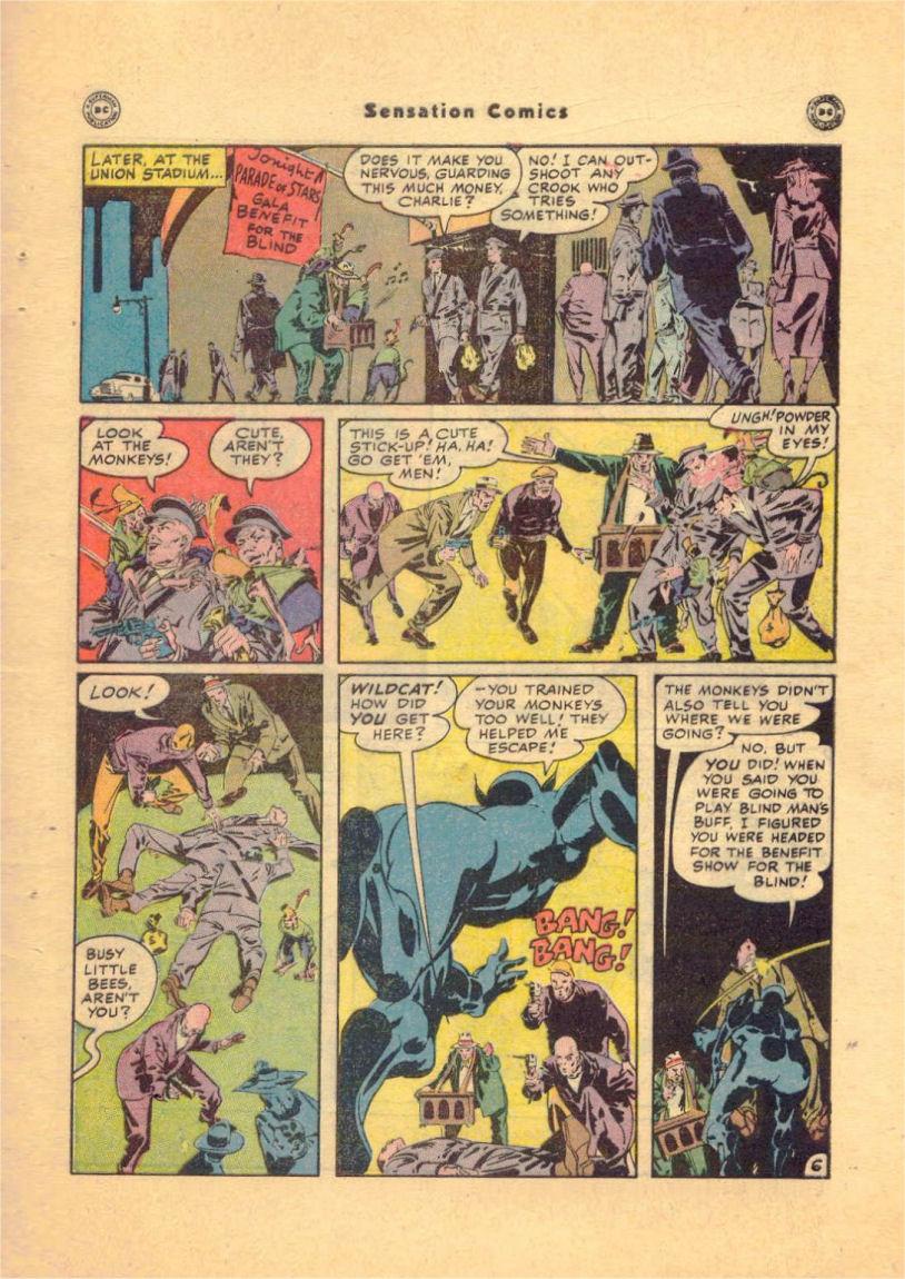 Read online Sensation (Mystery) Comics comic -  Issue #84 - 49