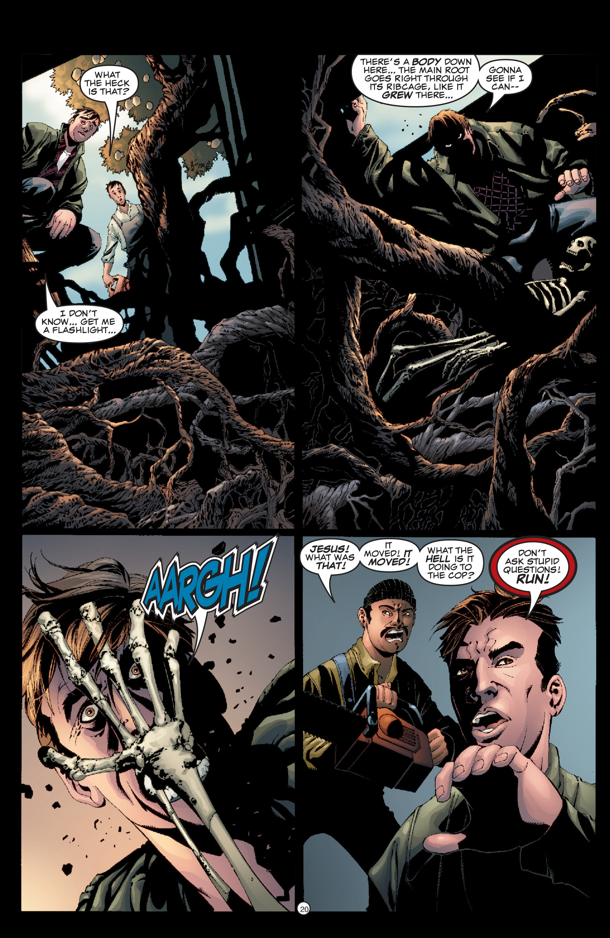 Read online Shadowman (1999) comic -  Issue #5 - 22