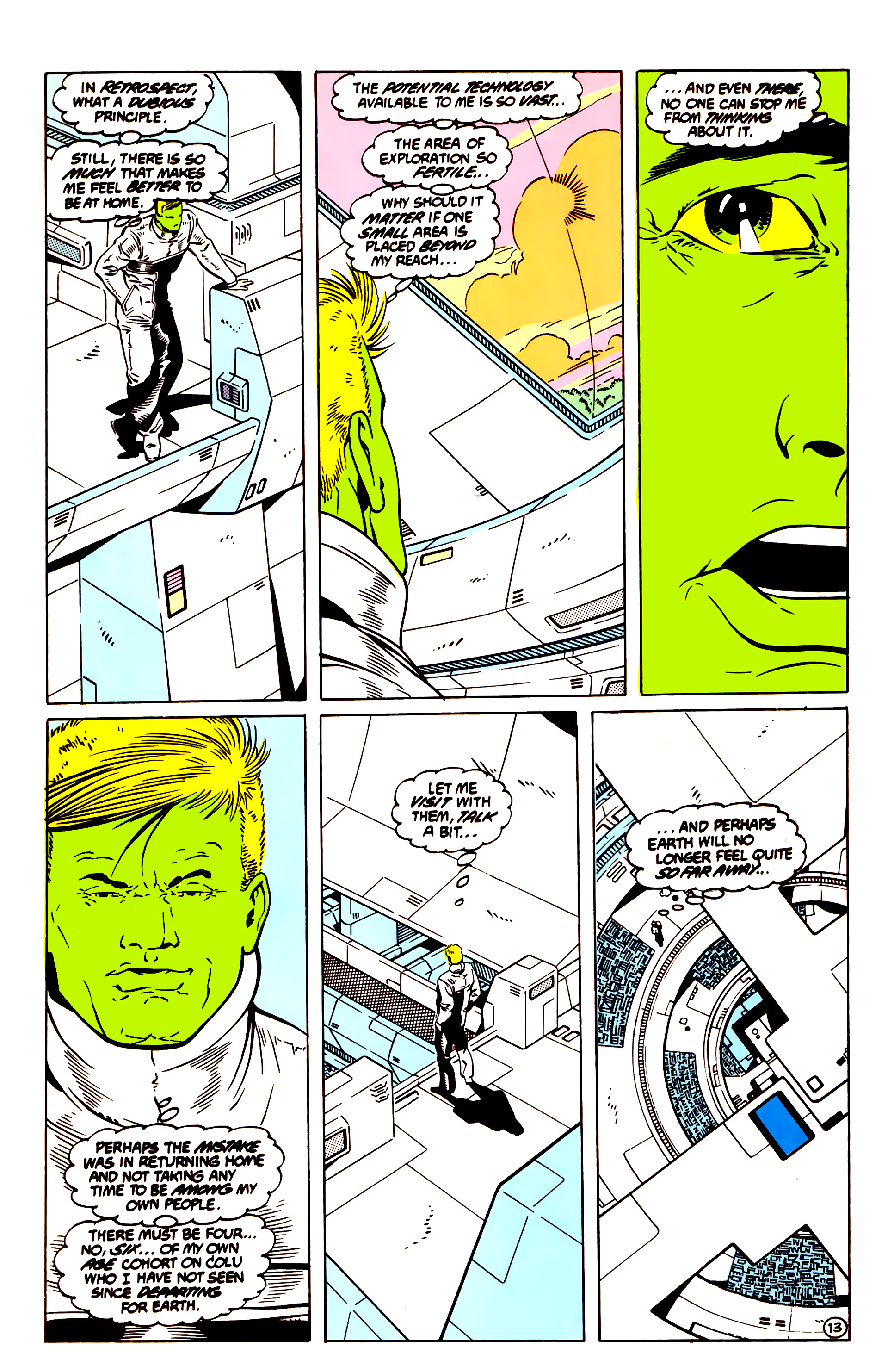 Legion of Super-Heroes (1984) 55 Page 13