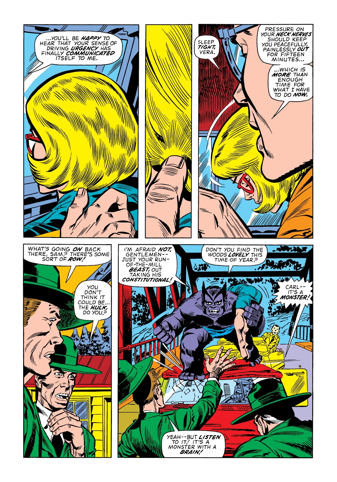 Read online Marvel Masterworks: The Incredible Hulk comic -  Issue # TPB 9 (Part 1) - 99