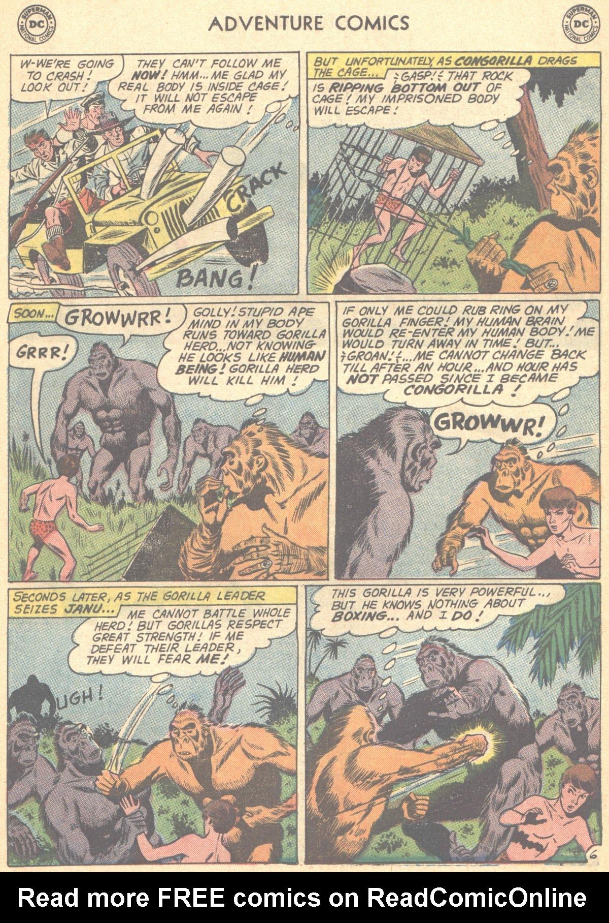 Read online Adventure Comics (1938) comic -  Issue #278 - 22