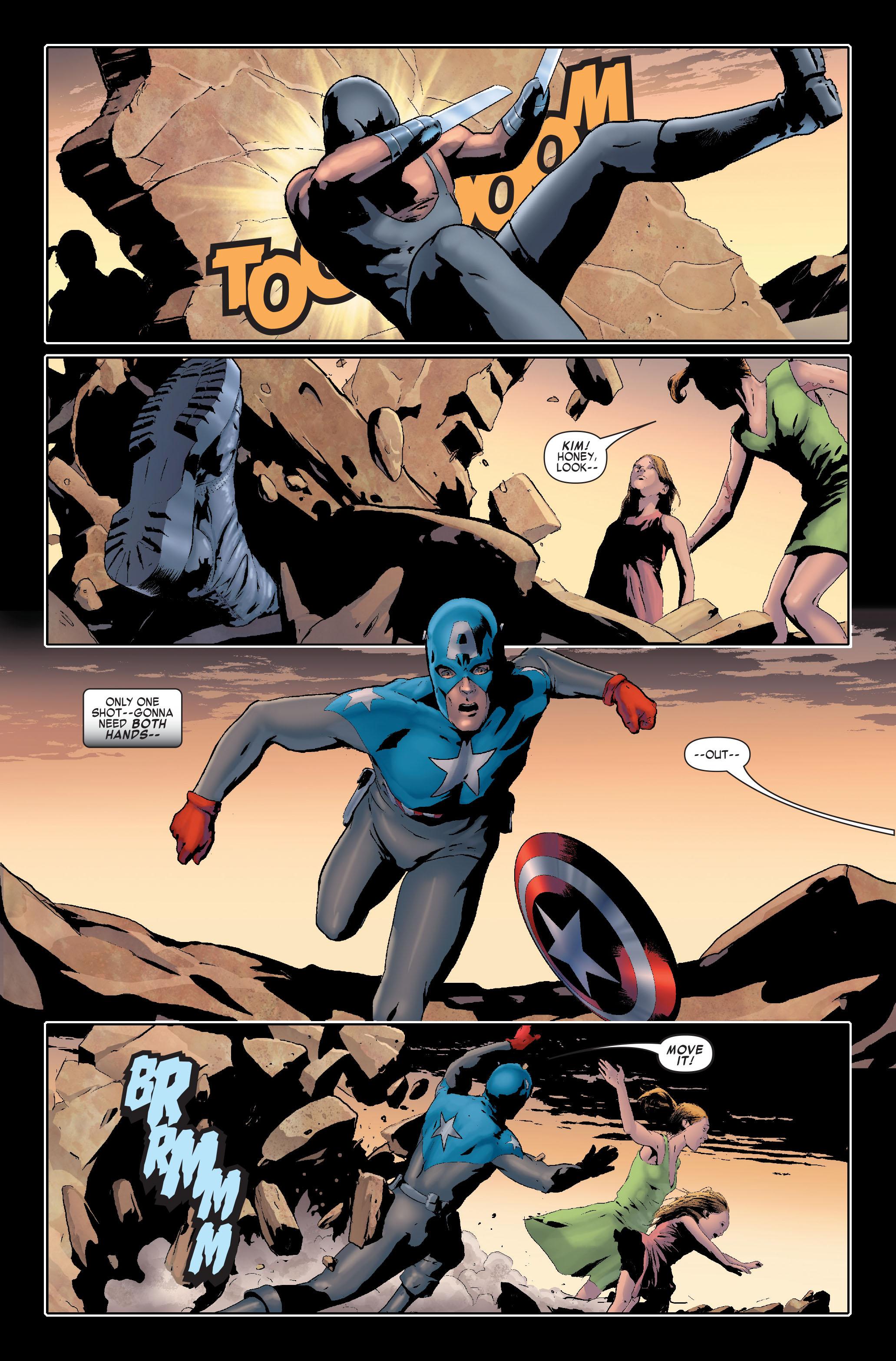 Read online Siege: Captain America comic -  Issue # Full - 19