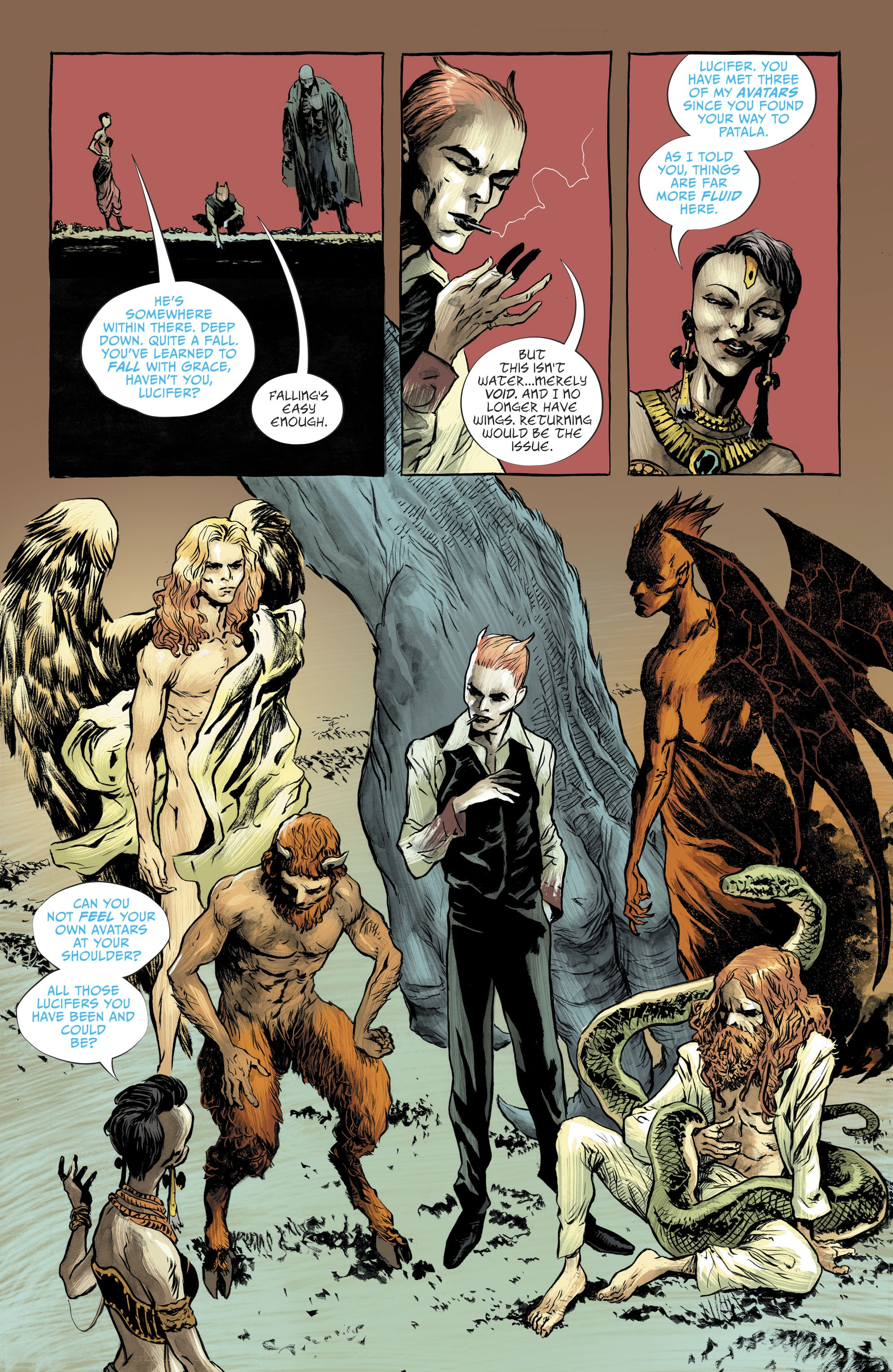 Read online Lucifer (2018) comic -  Issue #10 - 17