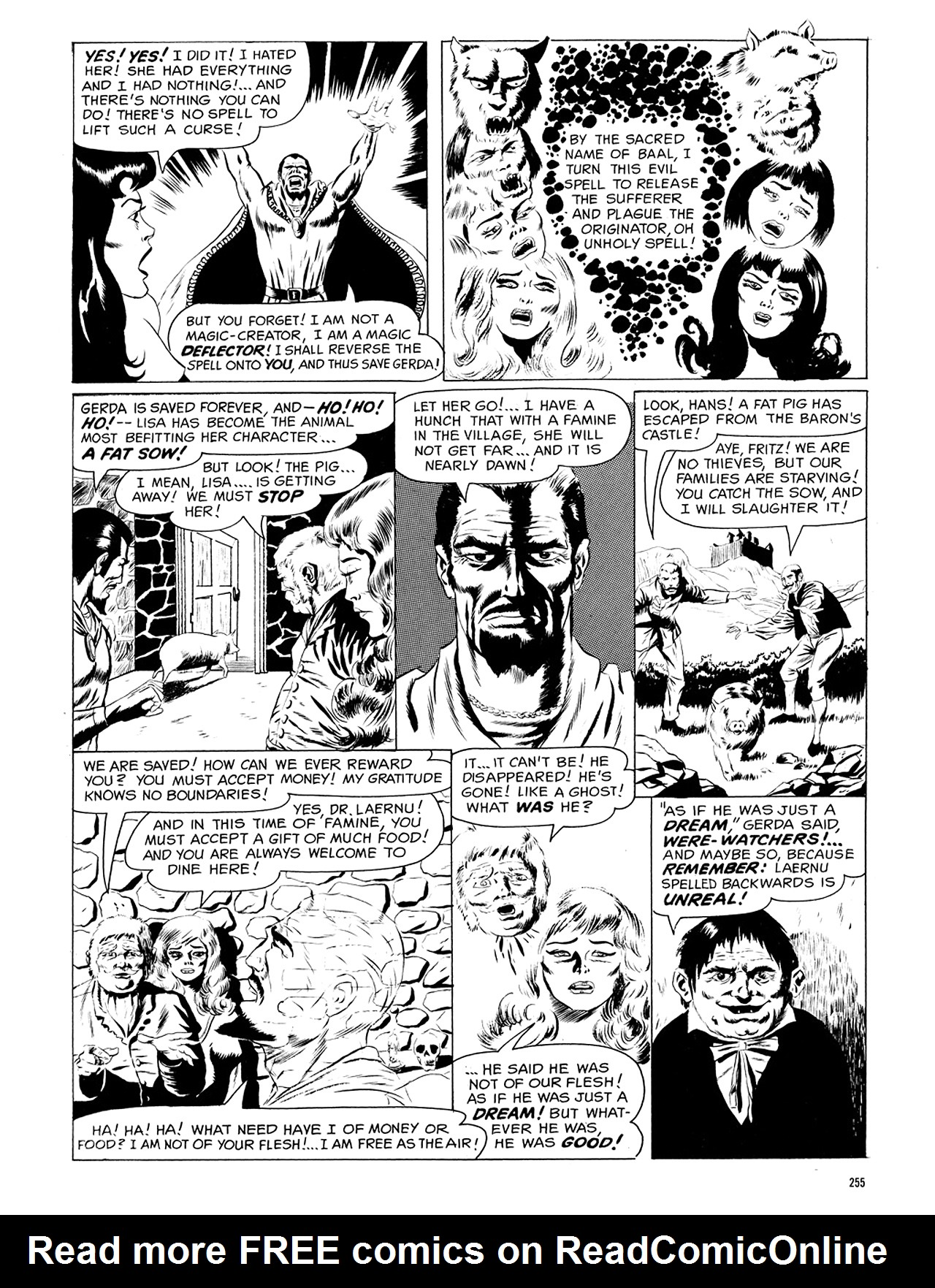 Read online Eerie Archives comic -  Issue # TPB 5 - 256