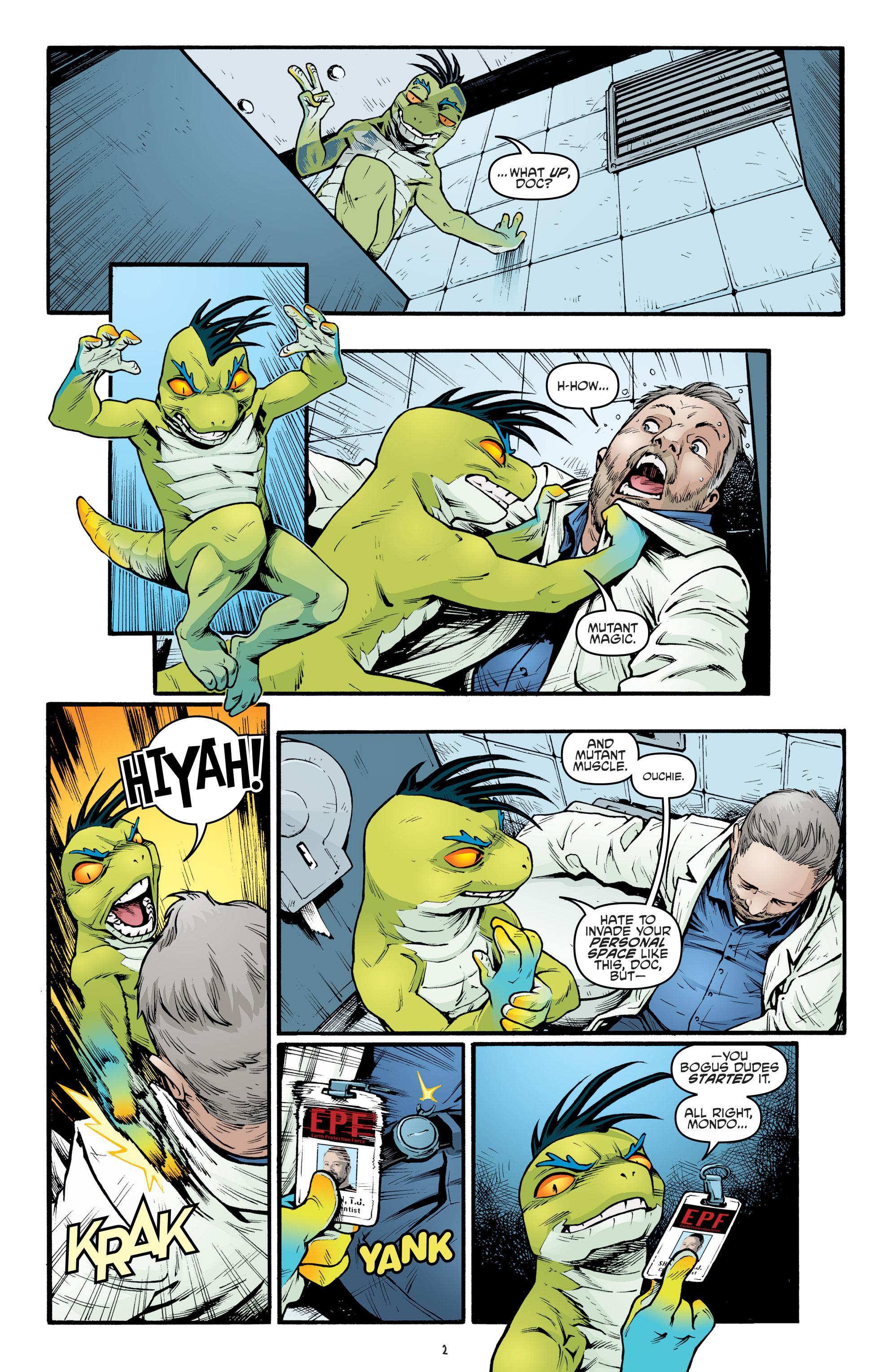 Read online Teenage Mutant Ninja Turtles (2011) comic -  Issue #69 - 4