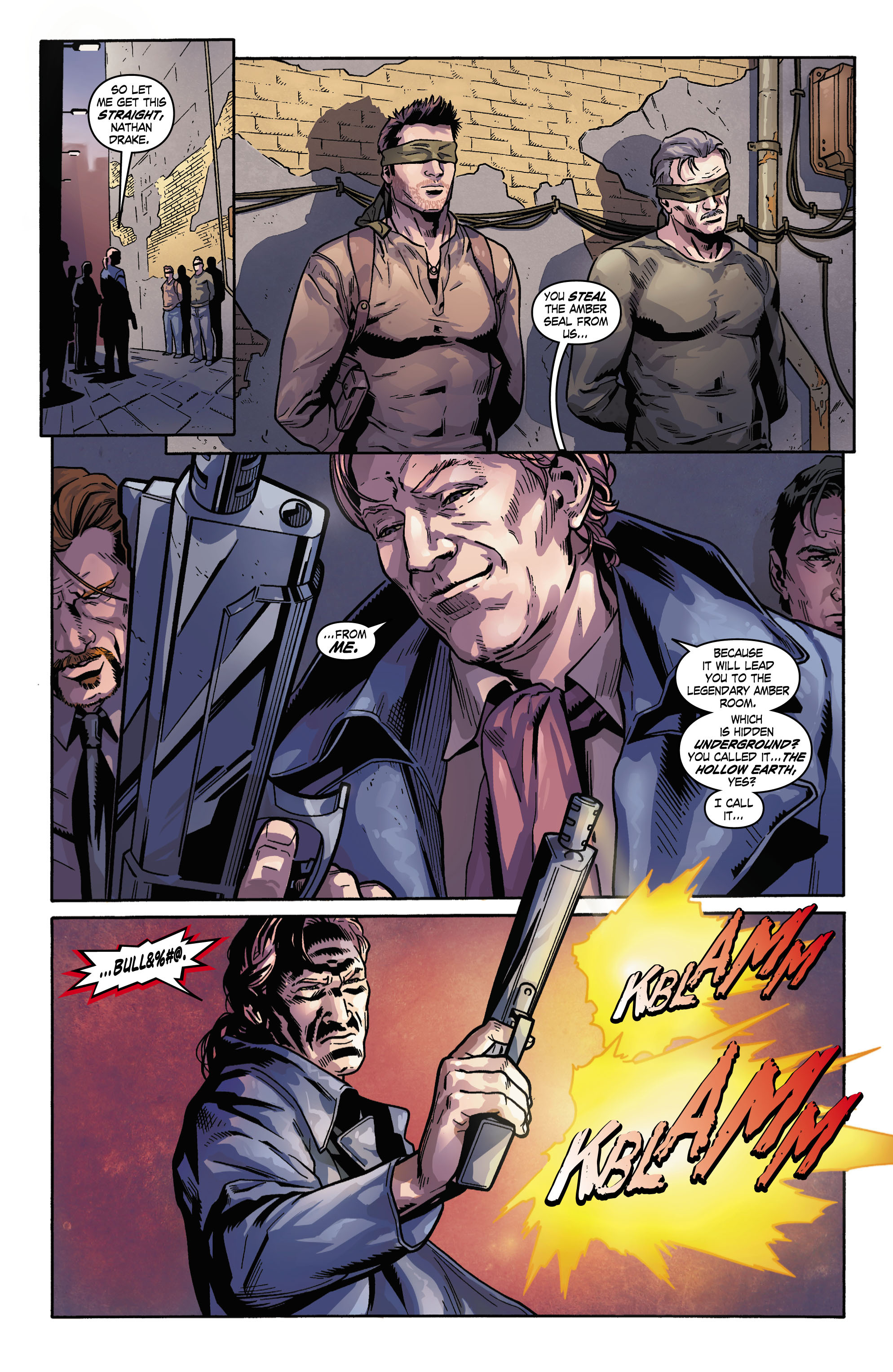 Read online Uncharted comic -  Issue #3 - 3