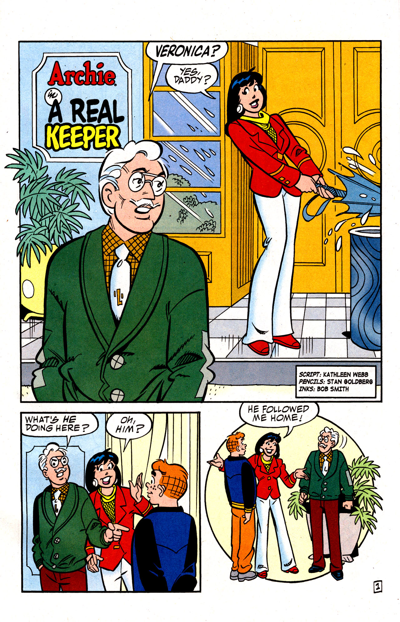Read online Archie (1960) comic -  Issue #574 - 36