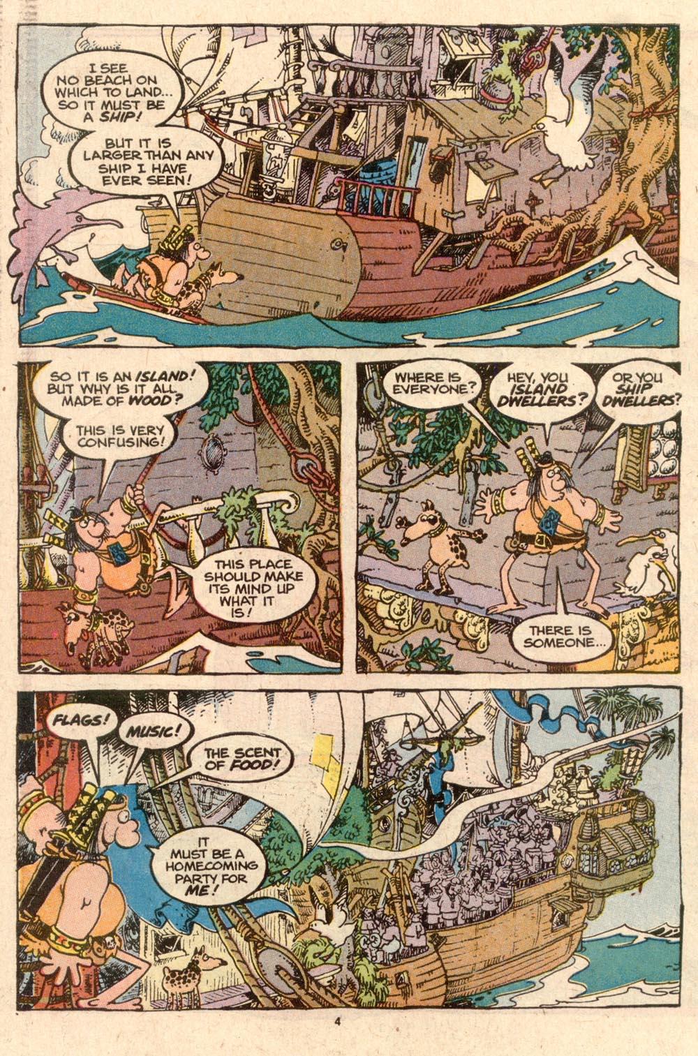 Read online Sergio Aragonés Groo the Wanderer comic -  Issue #57 - 4