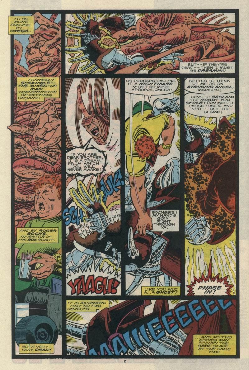 Read online Alpha Flight (1983) comic -  Issue #65 - 4