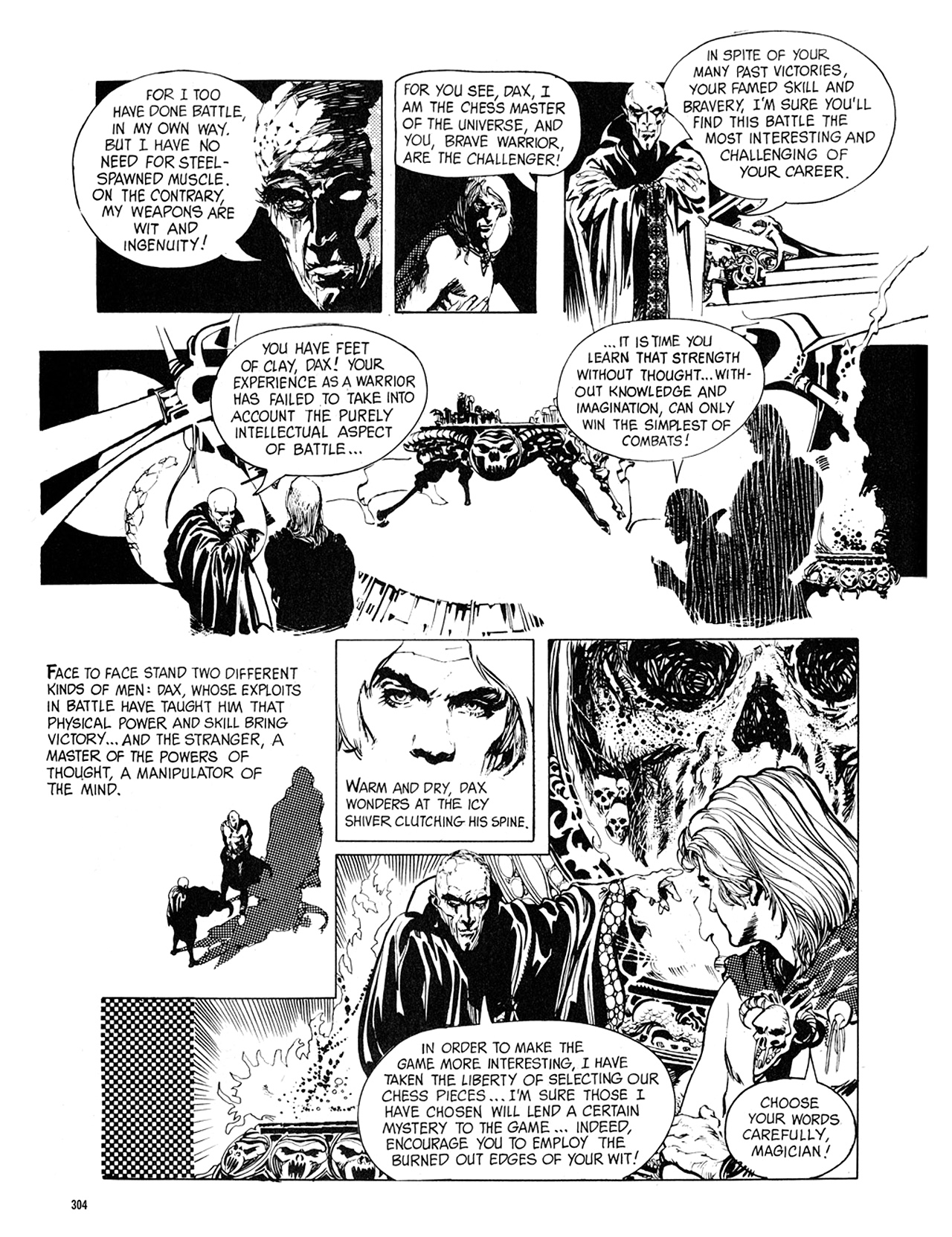 Read online Eerie Archives comic -  Issue # TPB 8 - 305