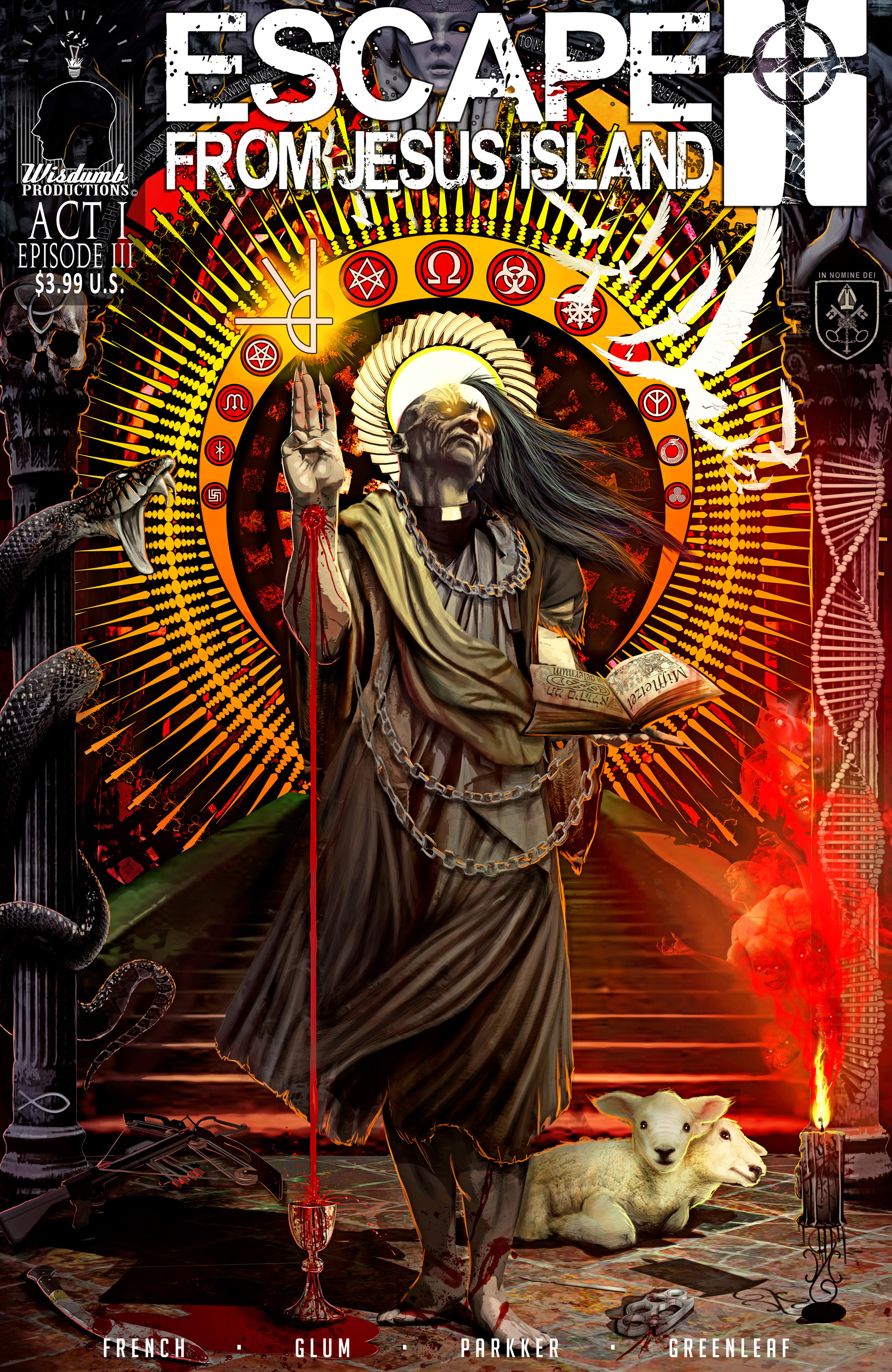 Read online Escape from Jesus Island comic -  Issue #3 - 1