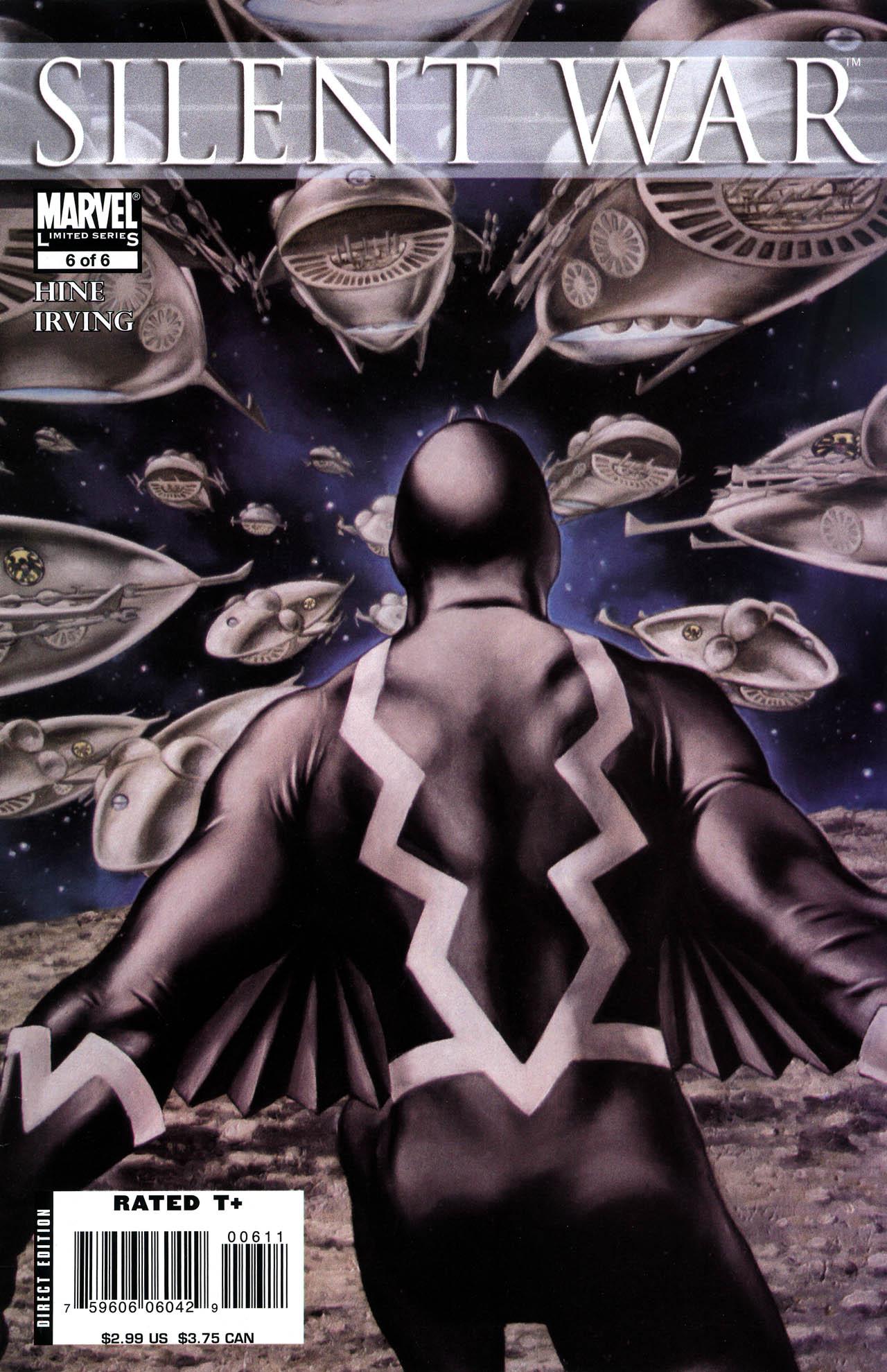 Read online Silent War comic -  Issue #6 - 1