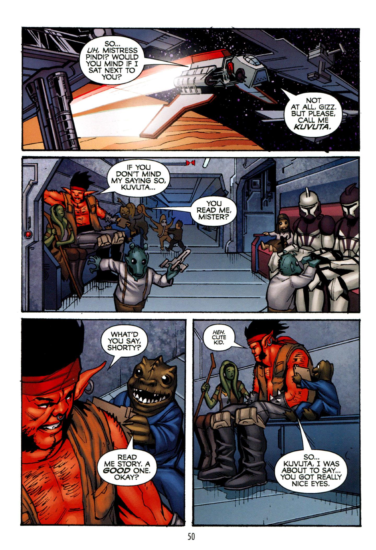 Read online Star Wars: The Clone Wars - Strange Allies comic -  Issue # Full - 51