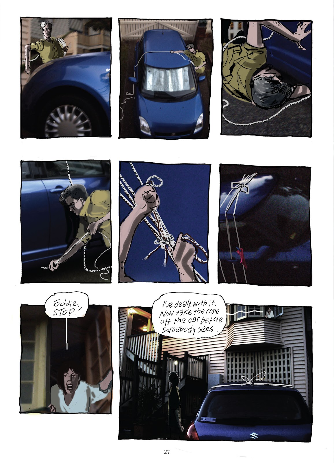 Read online The Lovely Horrible Stuff comic -  Issue # TPB - 29