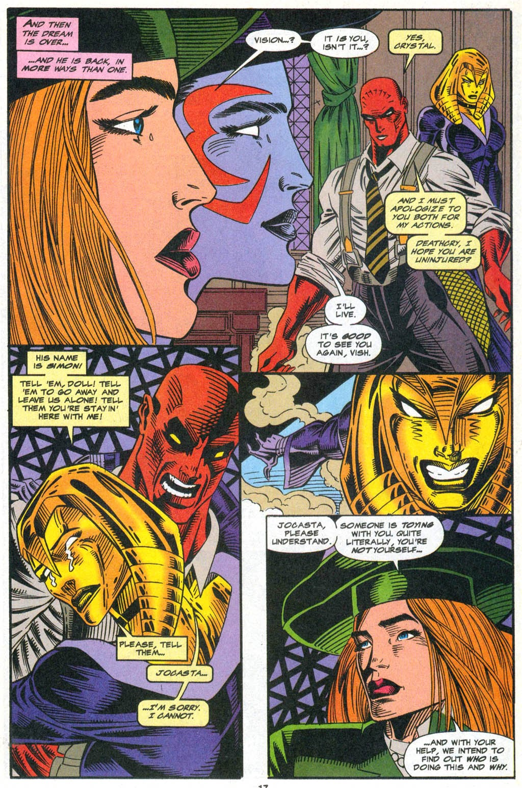 Read online The Vision comic -  Issue #2 - 14