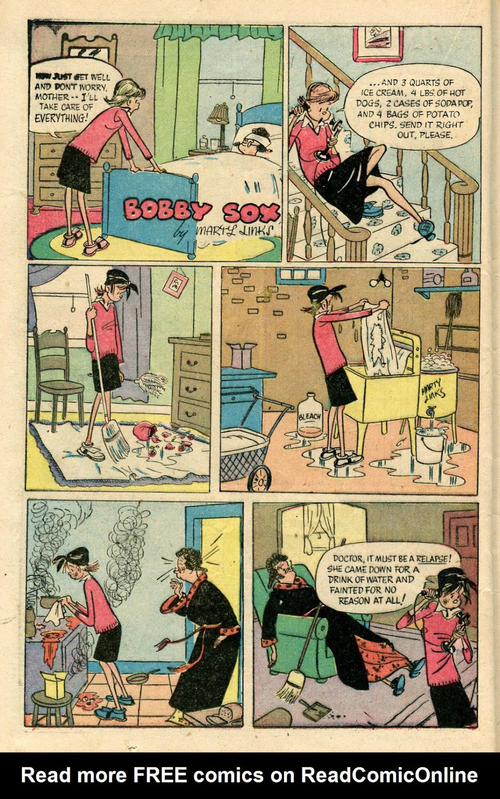 Read online Famous Funnies comic -  Issue #175 - 32