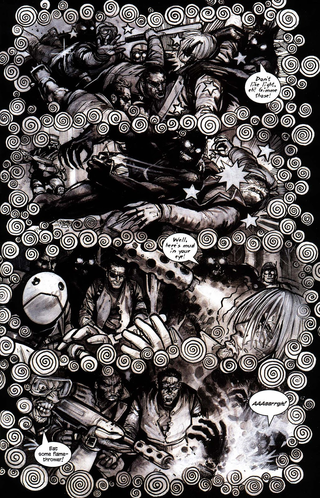 Read online Werewolf the Apocalypse comic -  Issue # Black Furies - 39