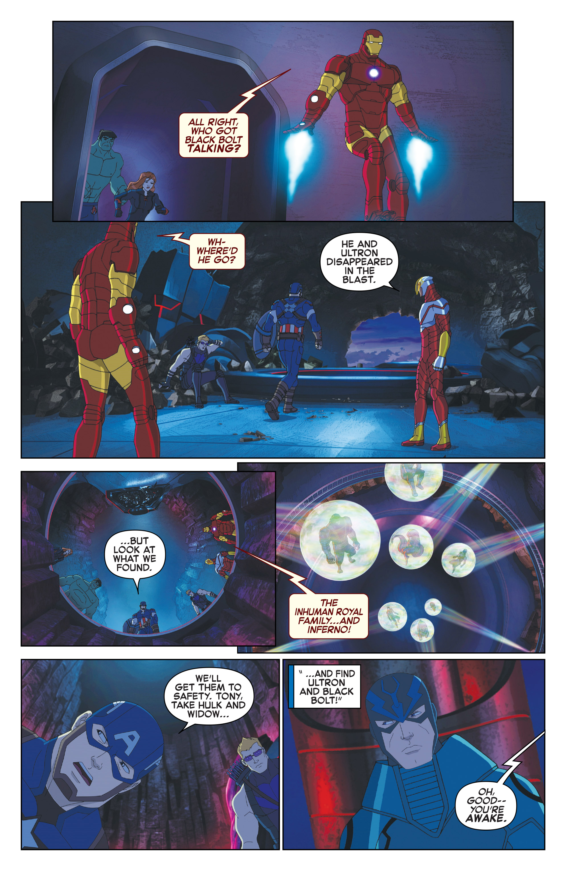 Read online Marvel Universe Avengers: Ultron Revolution comic -  Issue #10 - 13