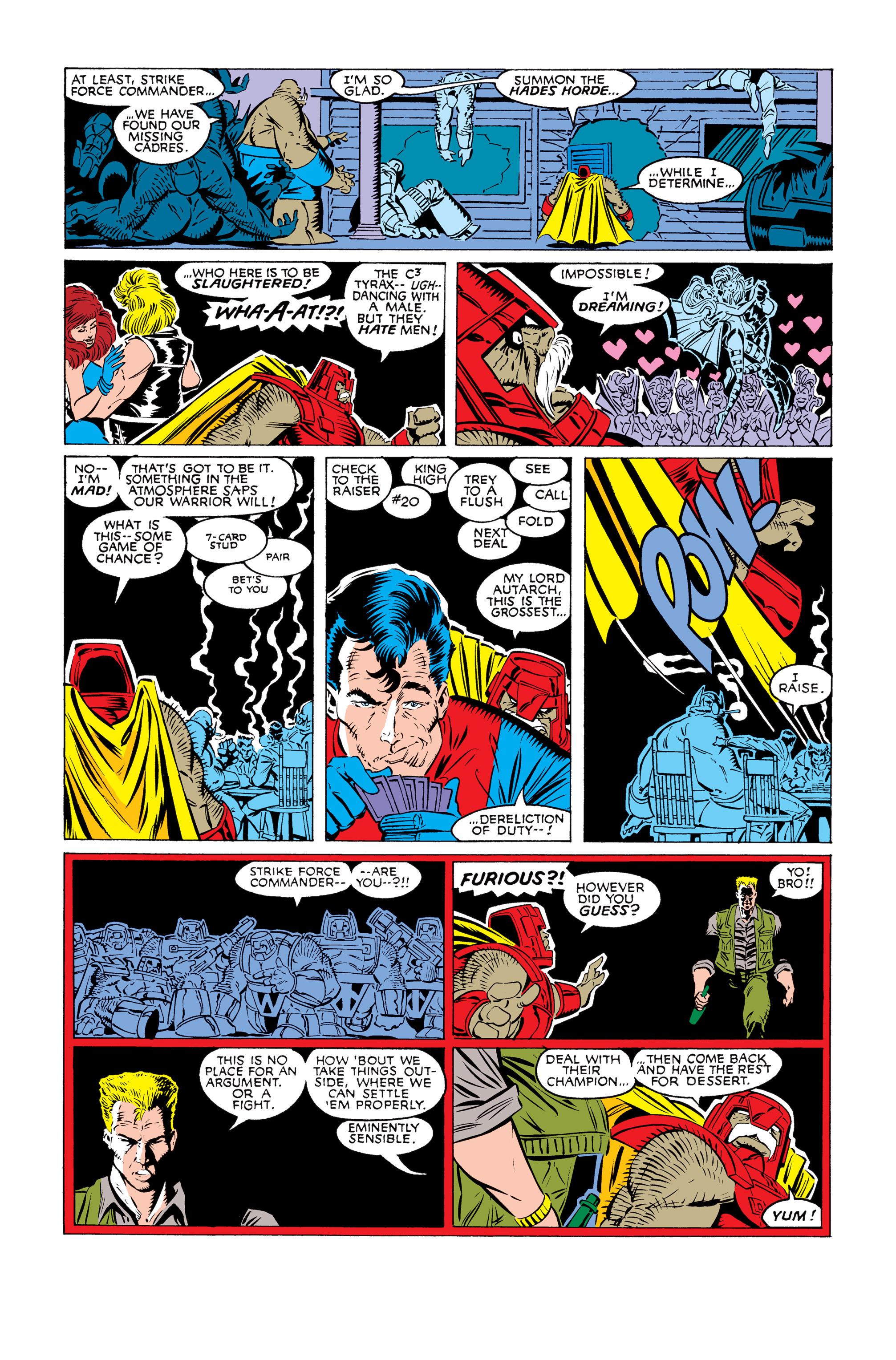 Read online Uncanny X-Men (1963) comic -  Issue #245 - 20