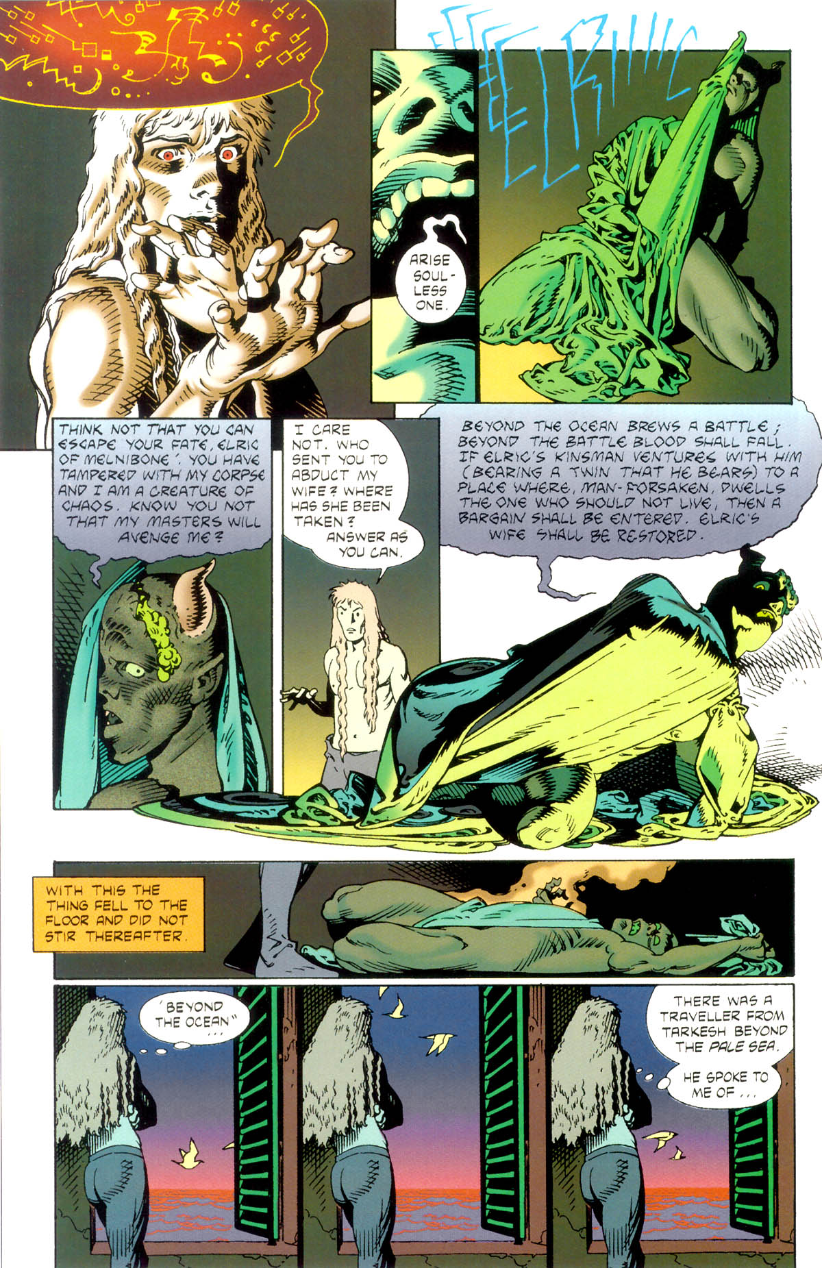 Read online Elric: Stormbringer comic -  Issue #1 - 12