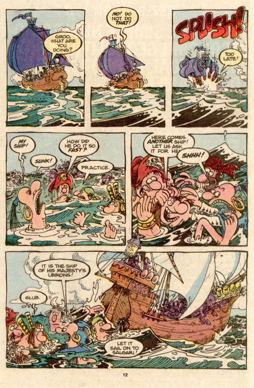 Read online Sergio Aragonés Groo the Wanderer comic -  Issue #33 - 12