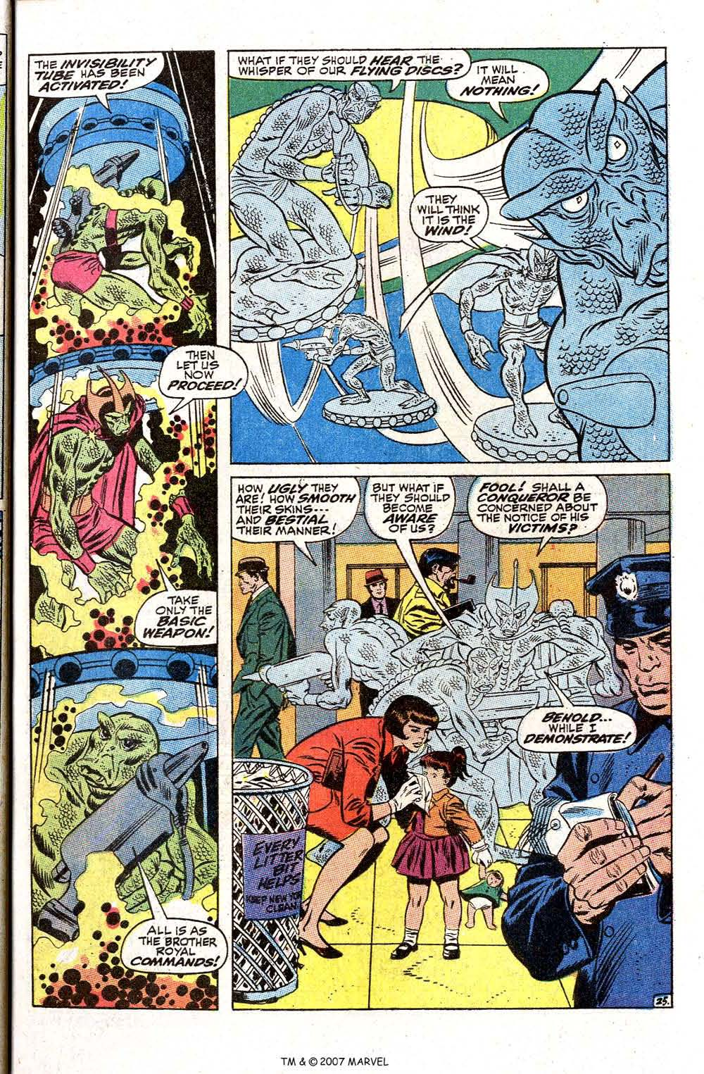 Read online Silver Surfer (1968) comic -  Issue #2 - 33
