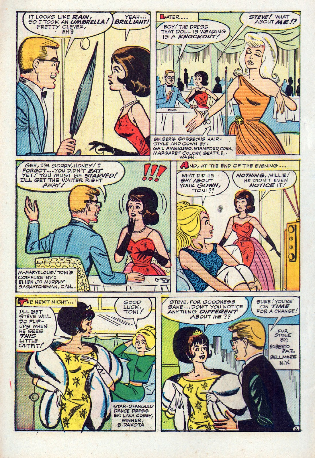 Read online Millie the Model comic -  Issue # Annual 2 - 20