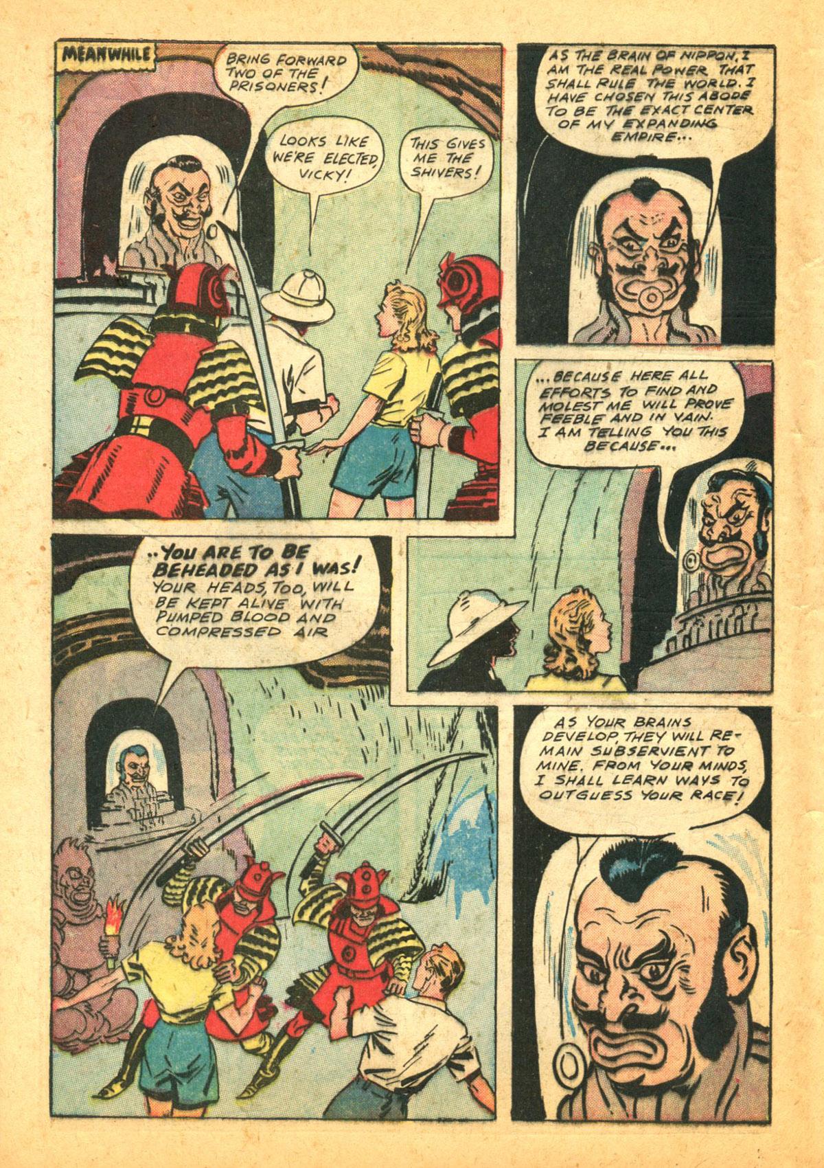 Read online Shadow Comics comic -  Issue #38 - 14