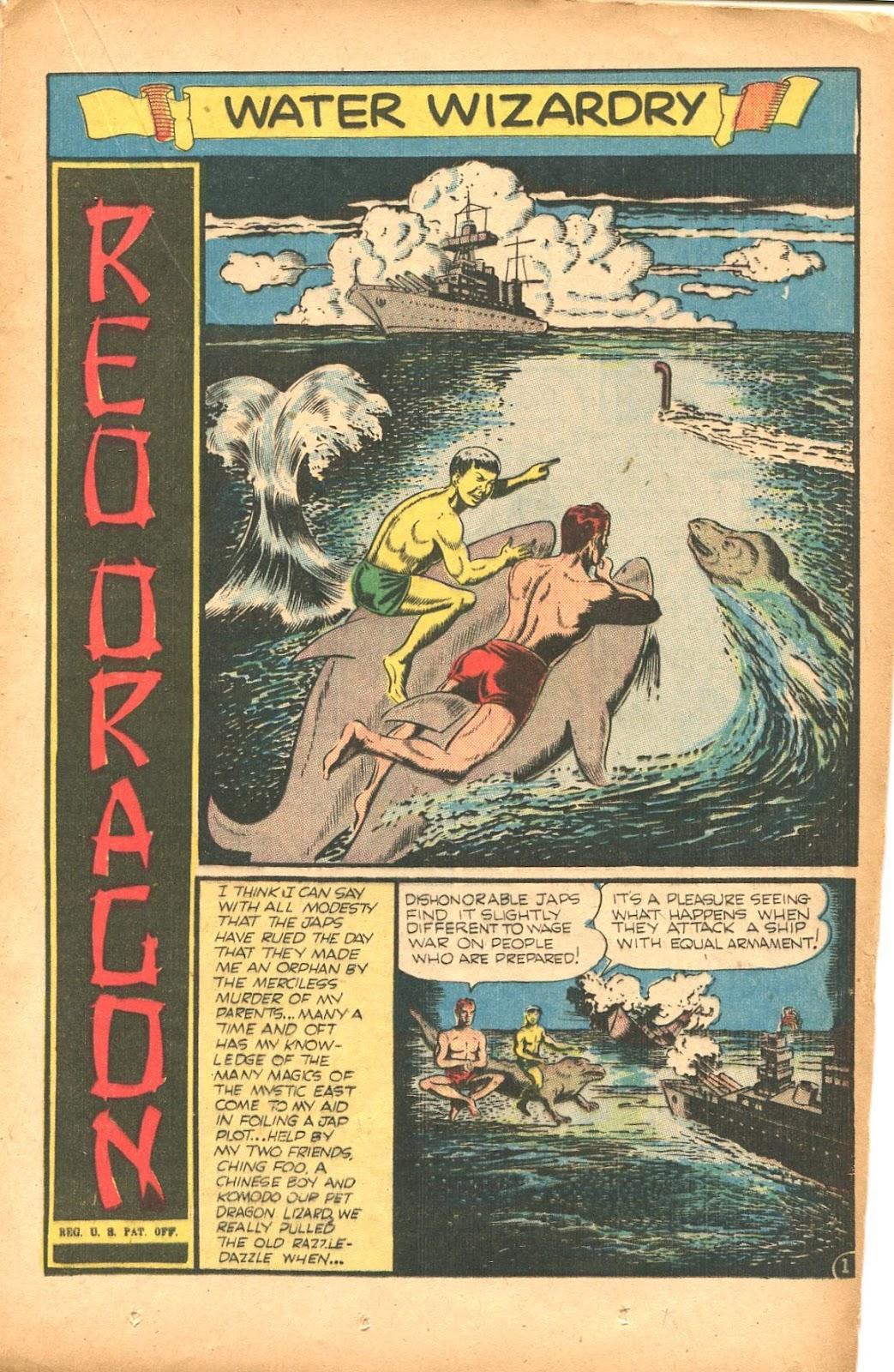 Read online Super-Magician Comics comic -  Issue #35 - 25