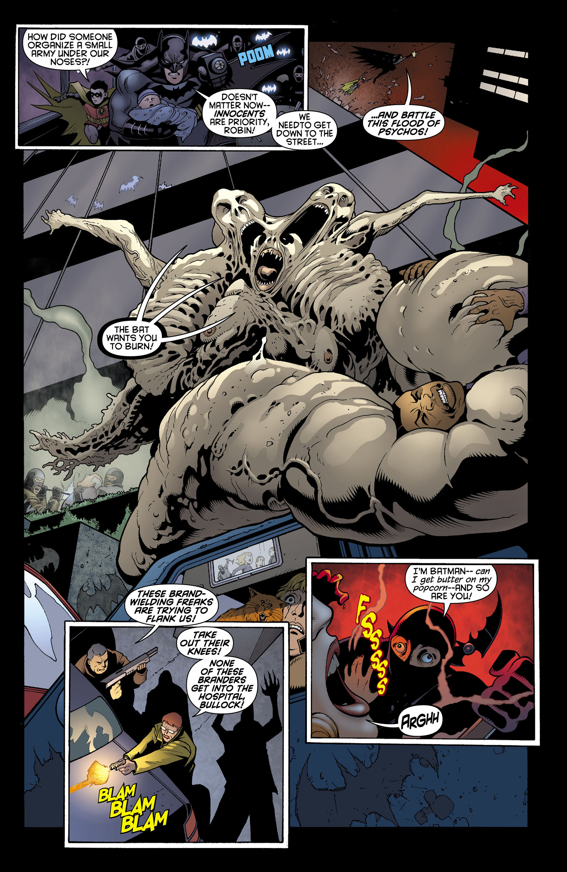 Read online Batman and Robin (2011) comic -  Issue #11 - 12