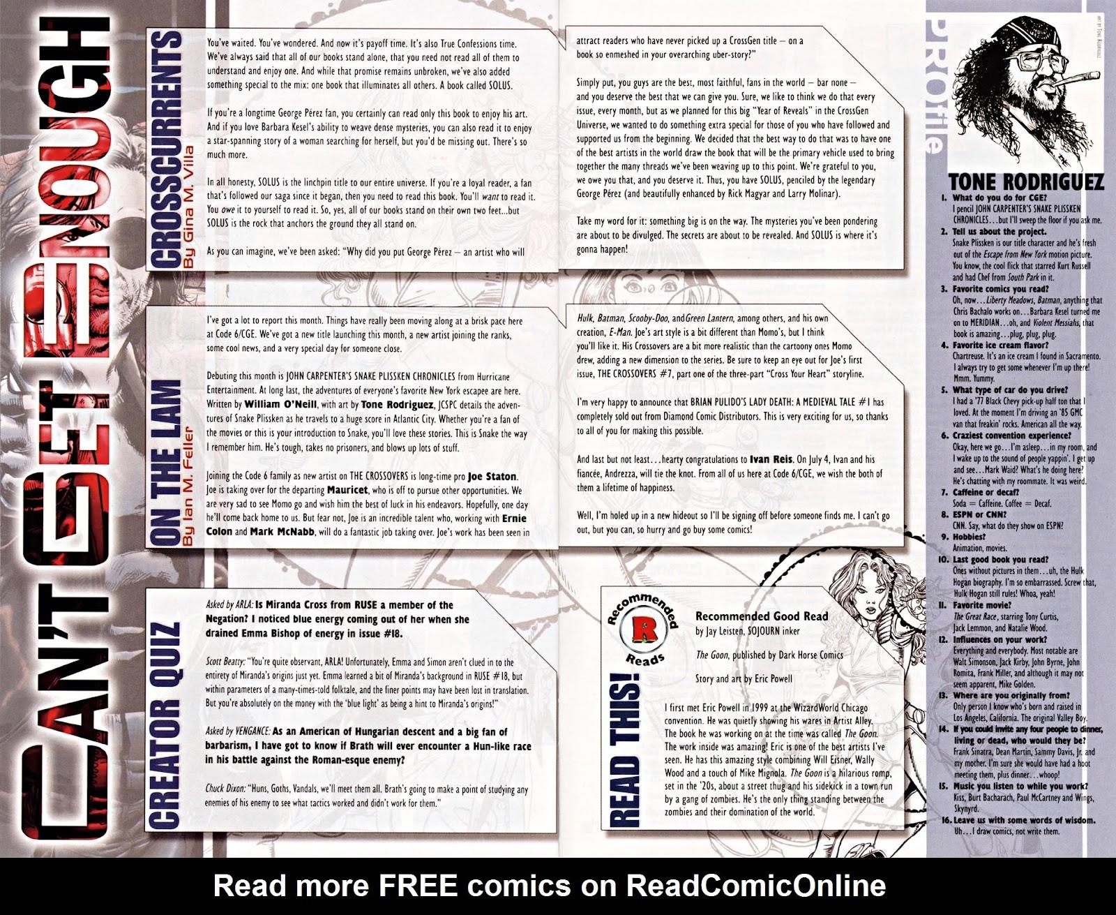 Read online Silken Ghost comic -  Issue #2 - 23