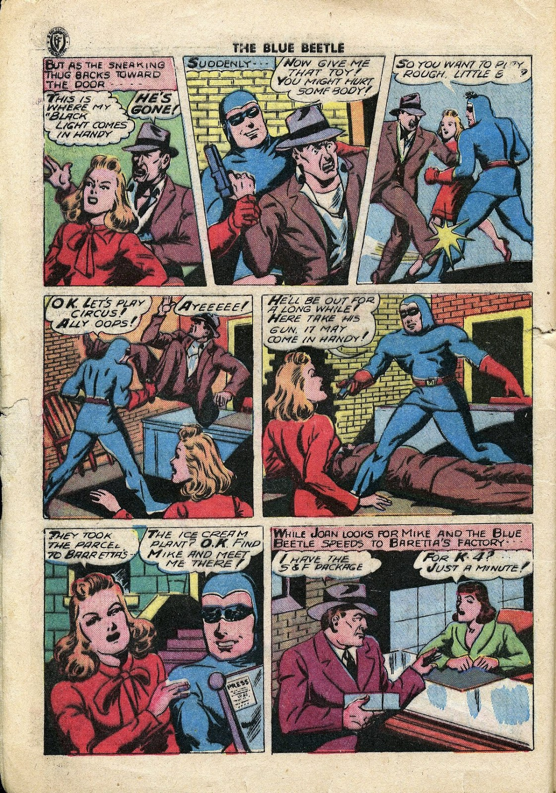 The Blue Beetle issue 34 - Page 5