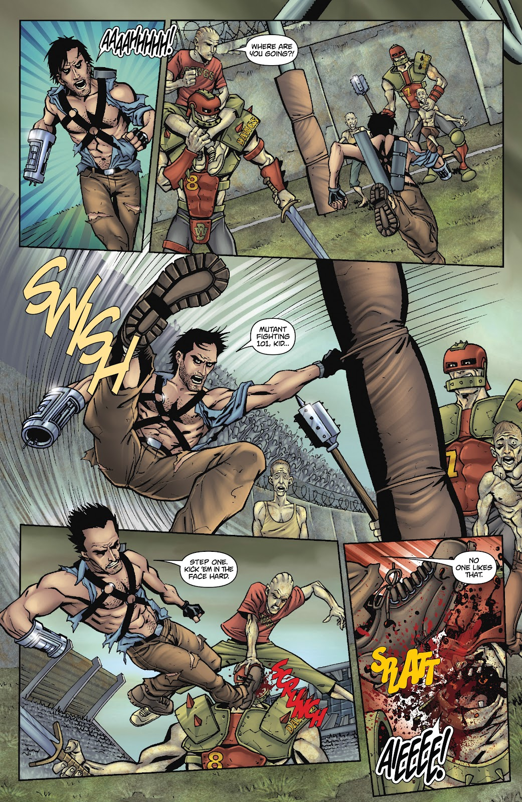 Army of Darkness: The Long Road Home issue TPB - Page 62