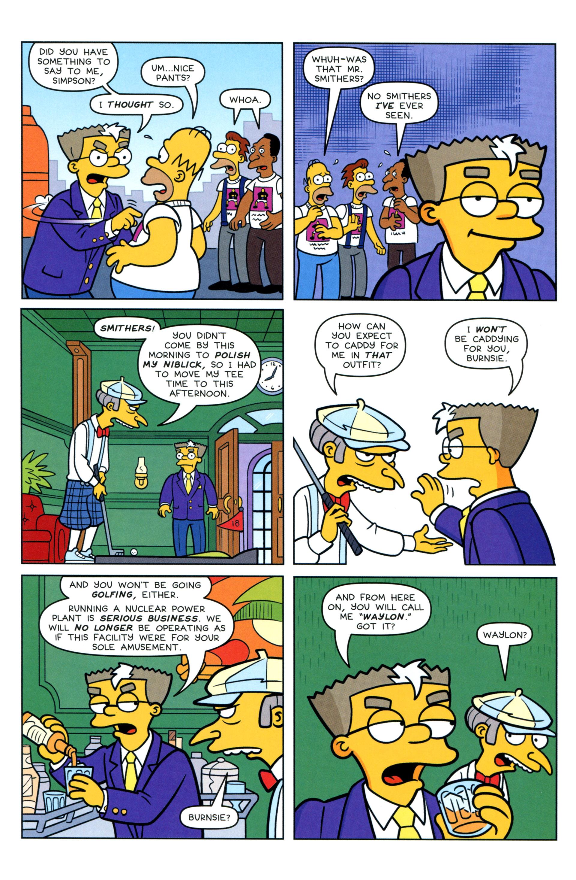 Read online Simpsons Comics comic -  Issue #205 - 9