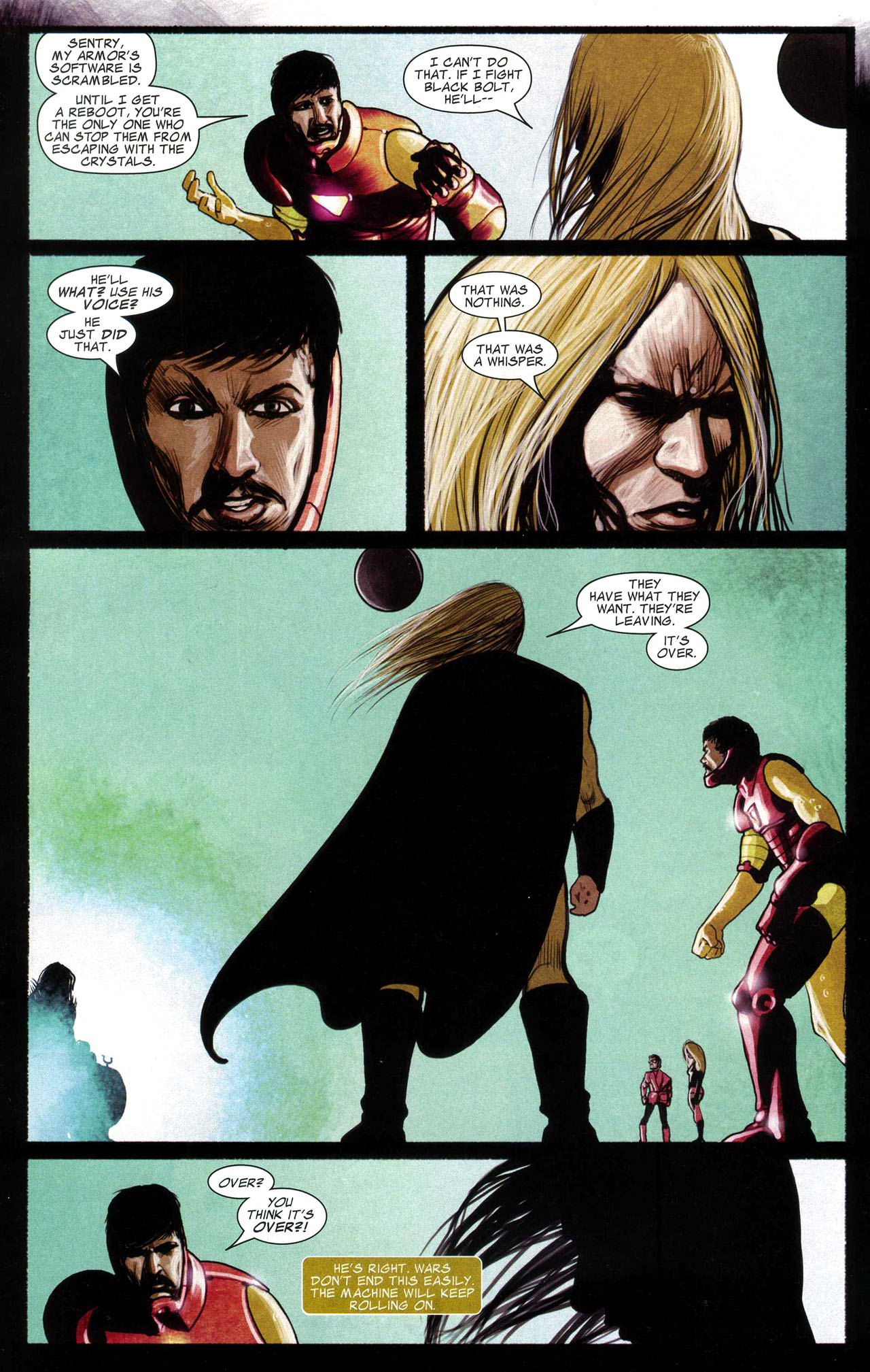 Read online Silent War comic -  Issue #5 - 21