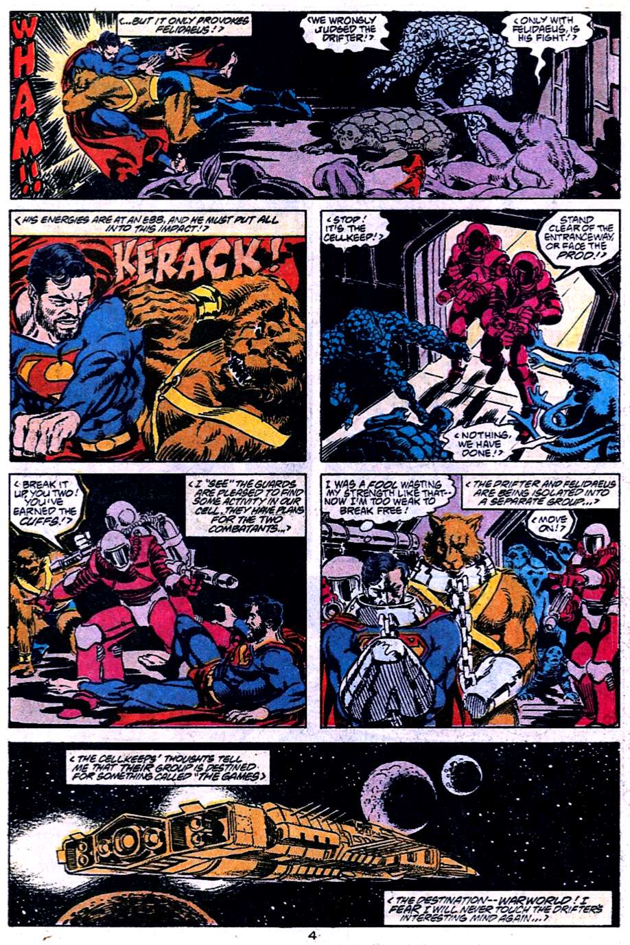 Read online Adventures of Superman (1987) comic -  Issue #454 - 5
