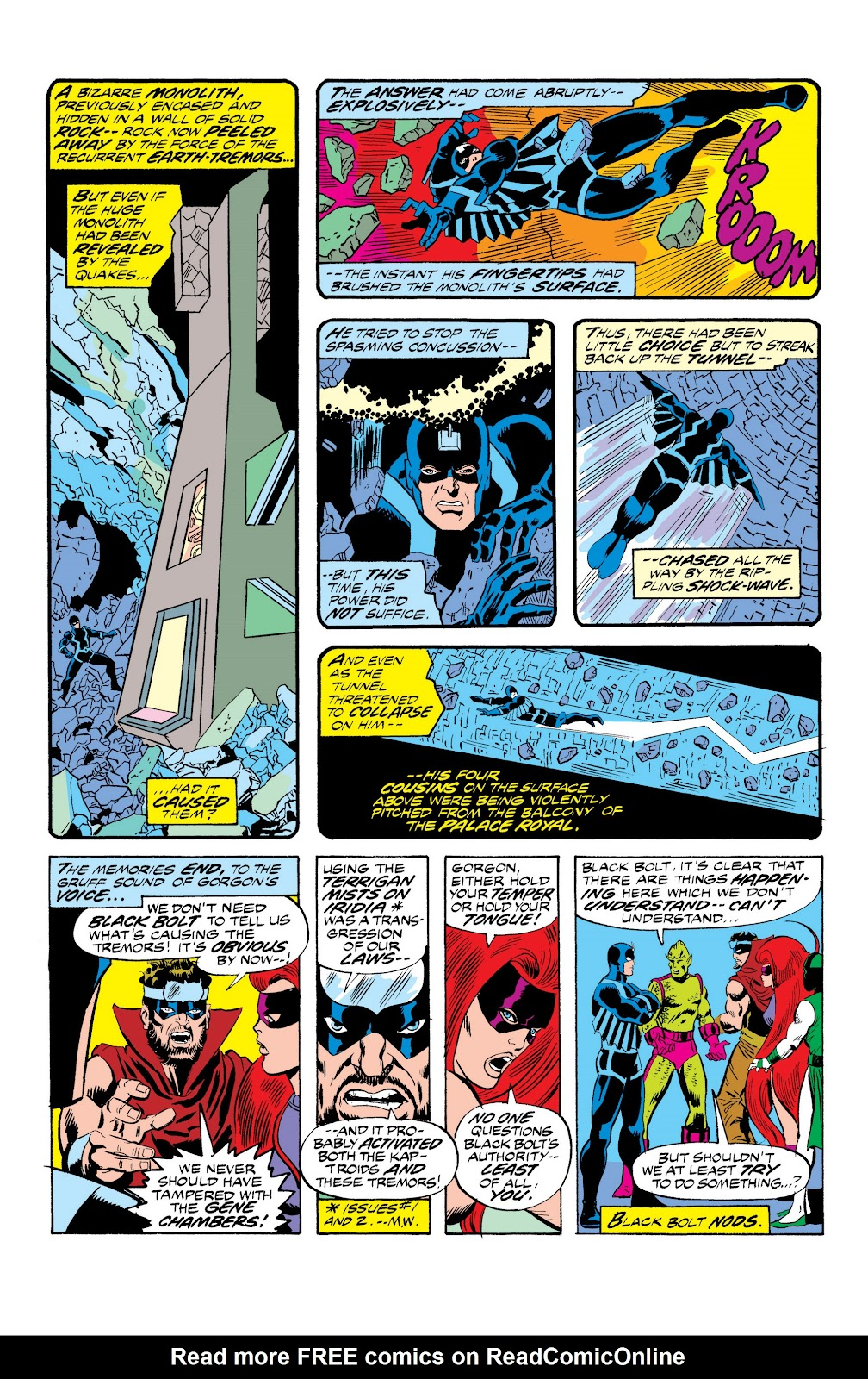 Read online Marvel Masterworks: The Inhumans comic -  Issue # TPB 2 (Part 1) - 52