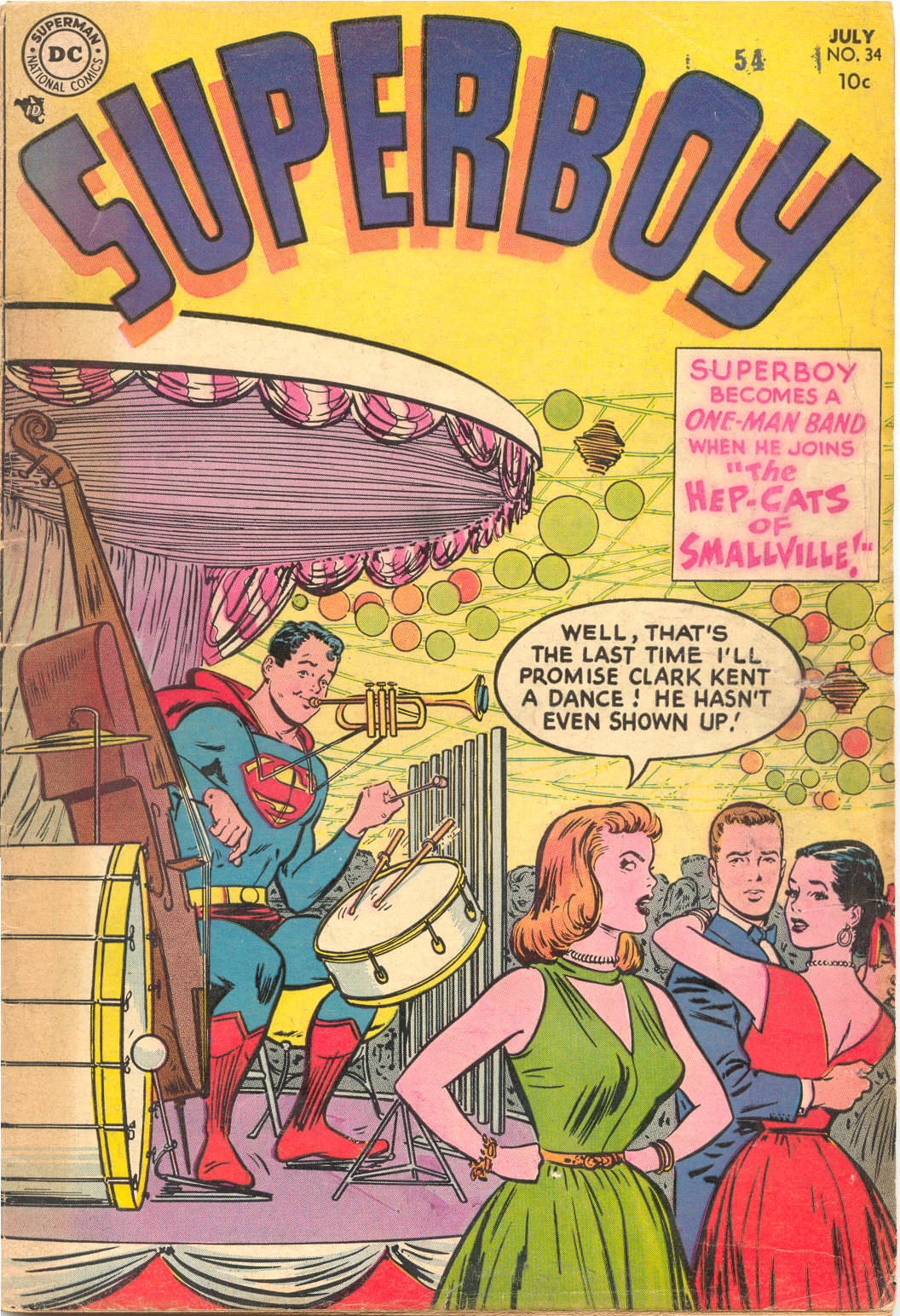 Superboy (1949) issue 34 - Page 1