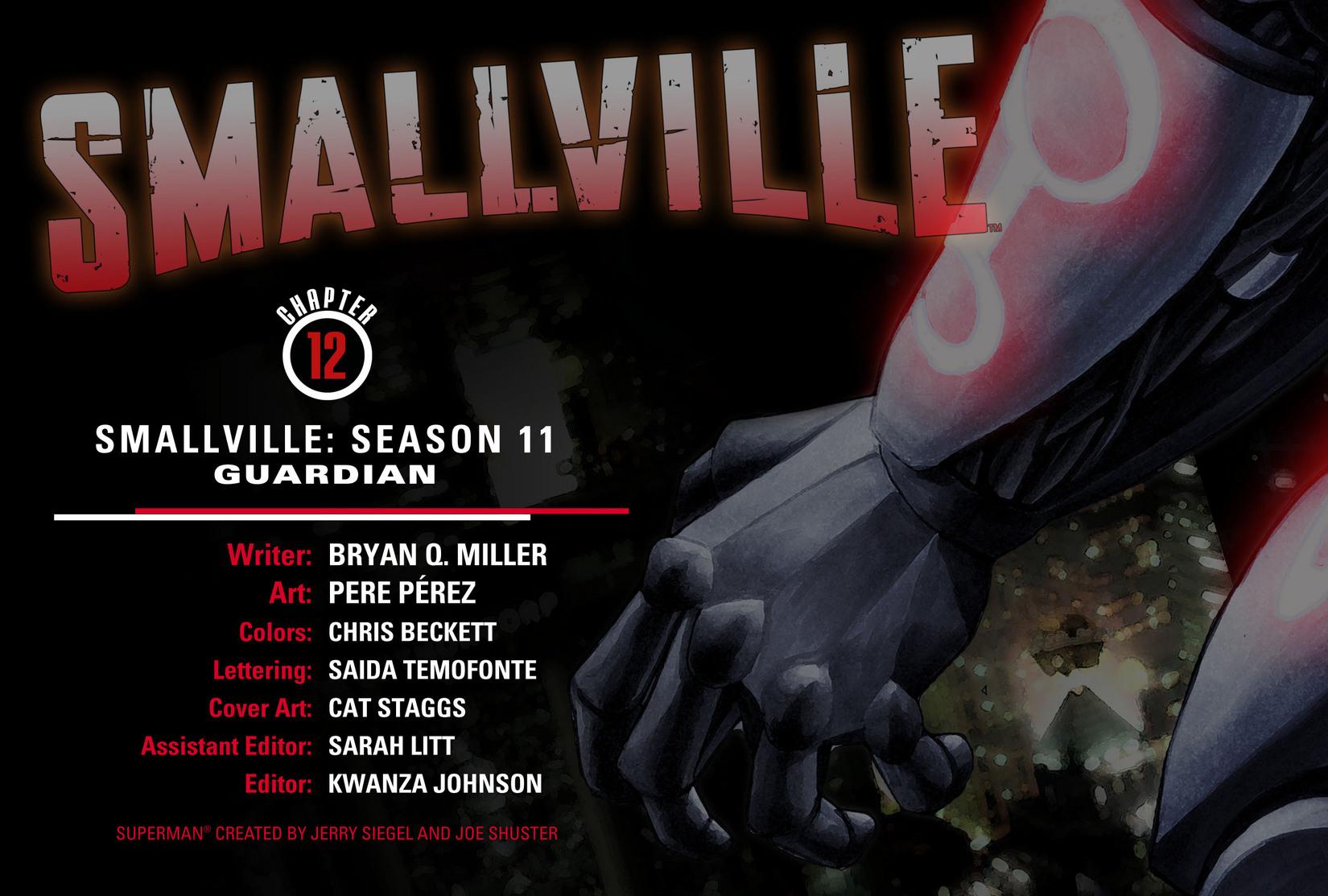 Read online Smallville: Season 11 comic -  Issue #12 - 2