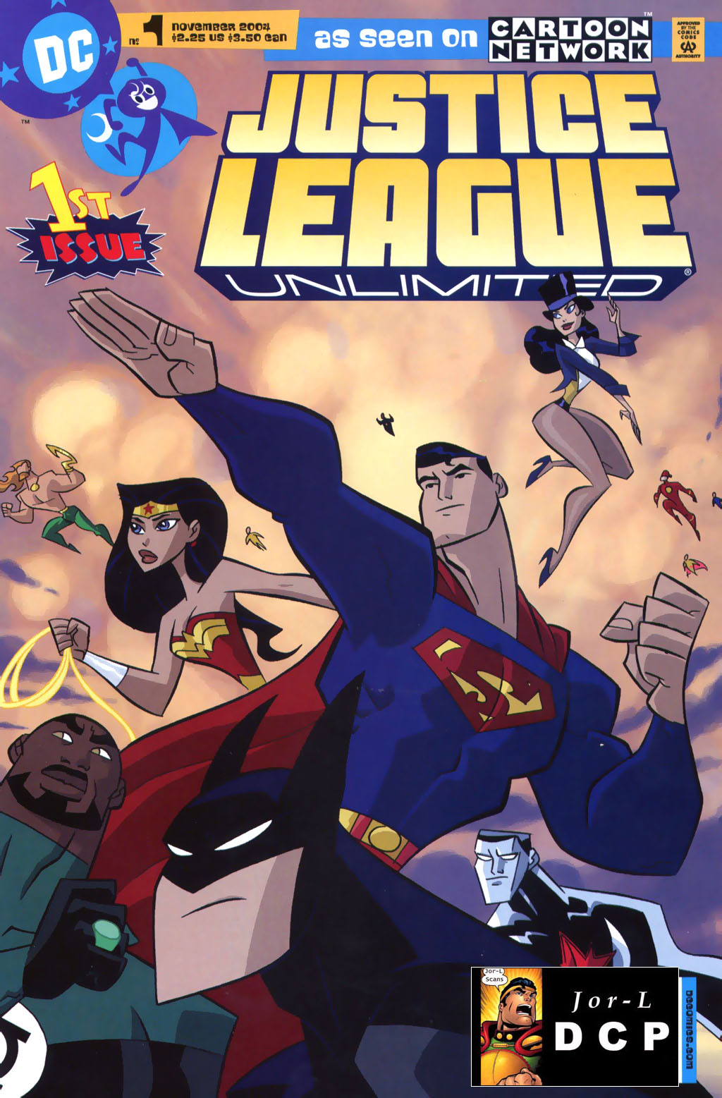Justice League Unlimited 1 Page 1