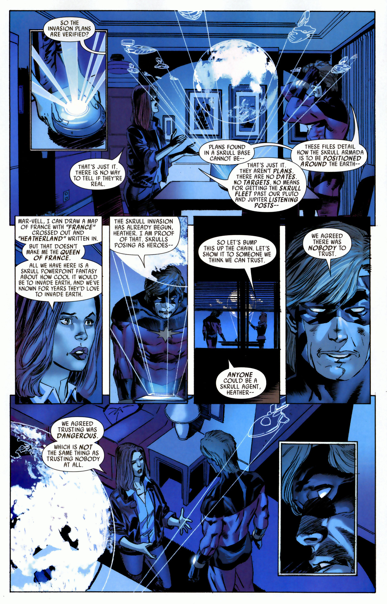 Read online Secret Invasion: Who Do You Trust? comic -  Issue # Full - 7